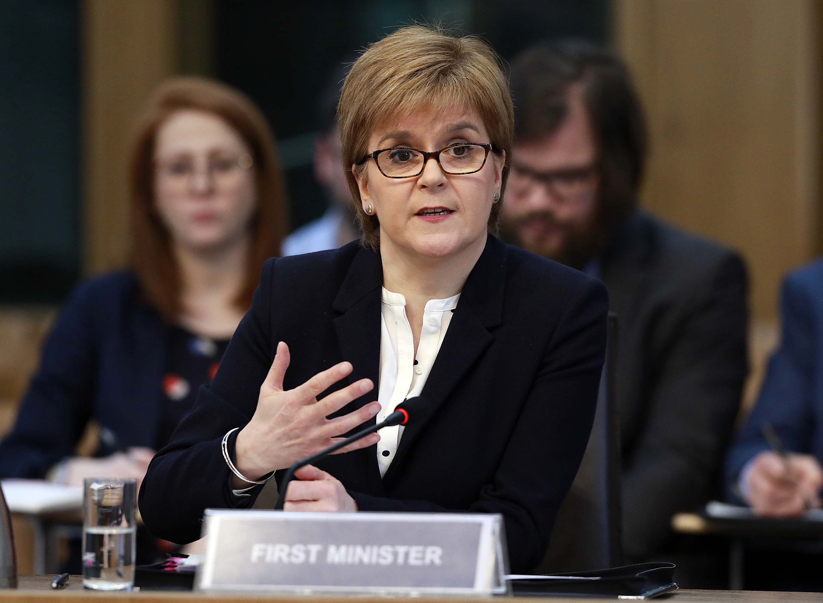First Minister Nicola Sturgeon (Andrew Cowan/Scottish Parliament/PA Wire)