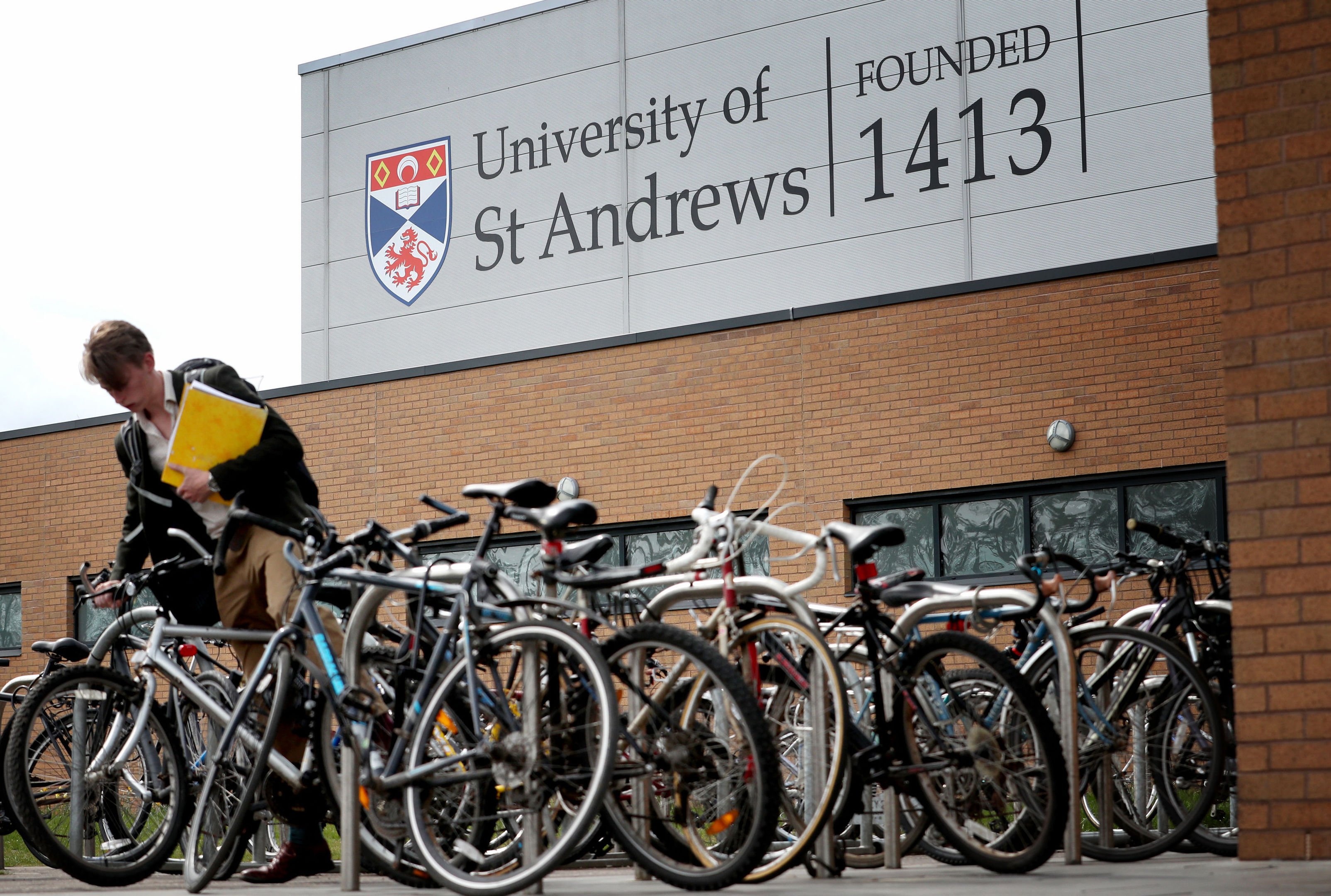 The Sports Department at the University of St Andrew (Jane Barlow/PA Wire)