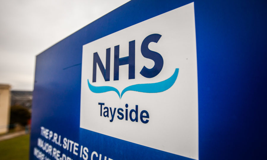 NHS tayside Warp IT impact supplier of the year