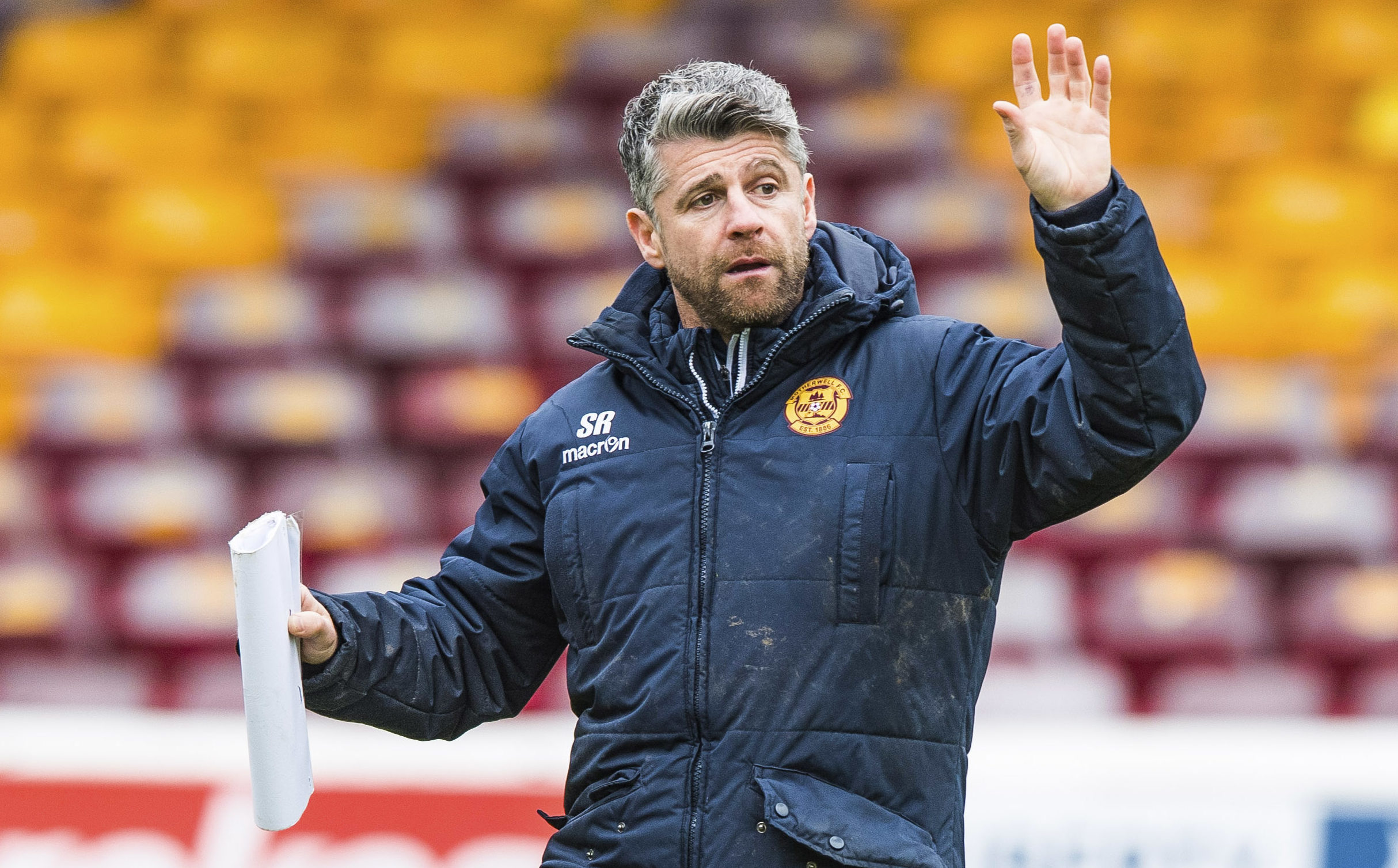 Motherwell manager Stephen Robinson (SNS Group / Gary Hutchison)