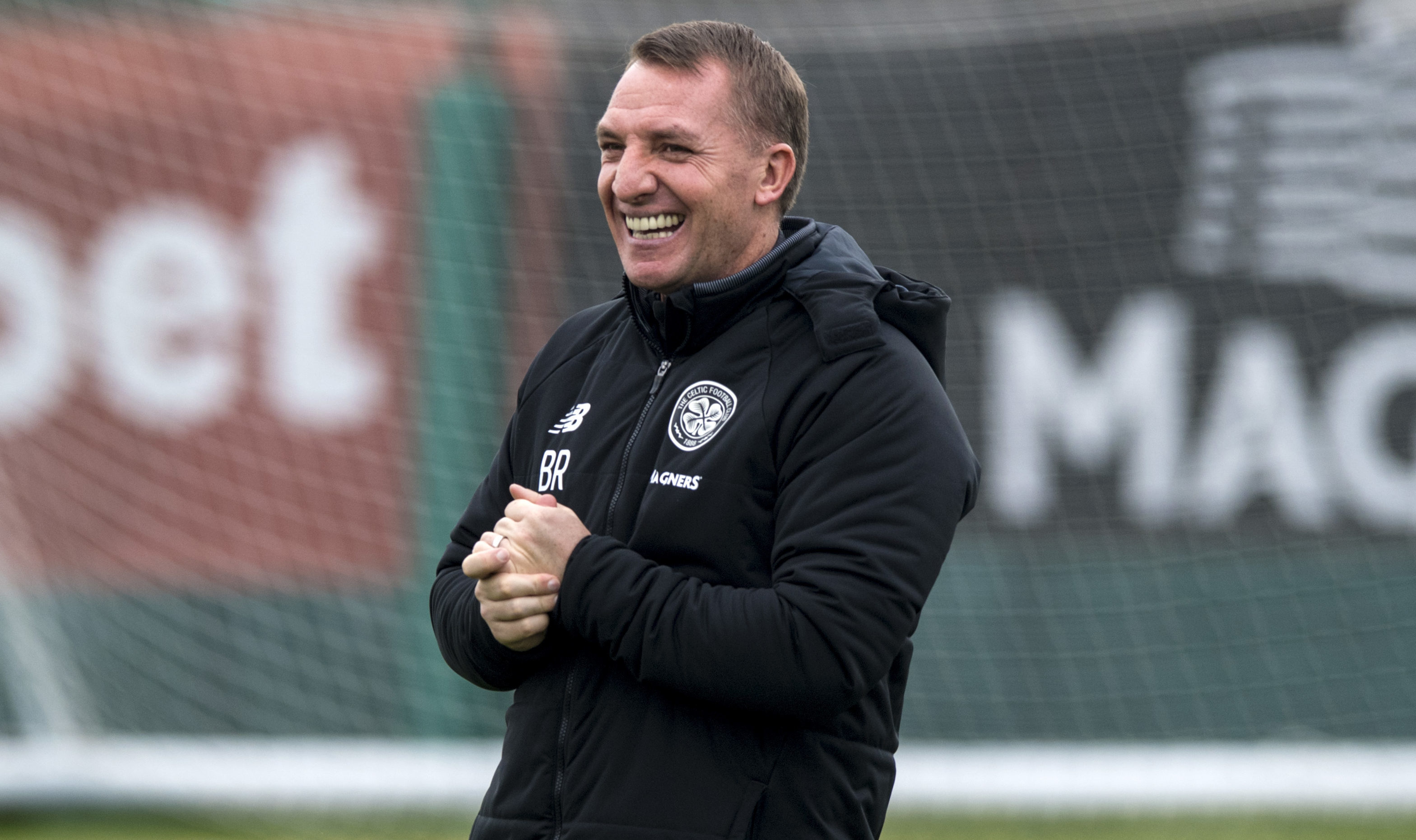 Celtic manager Brendan Rodgers (SNS Group / Alan Harvey)