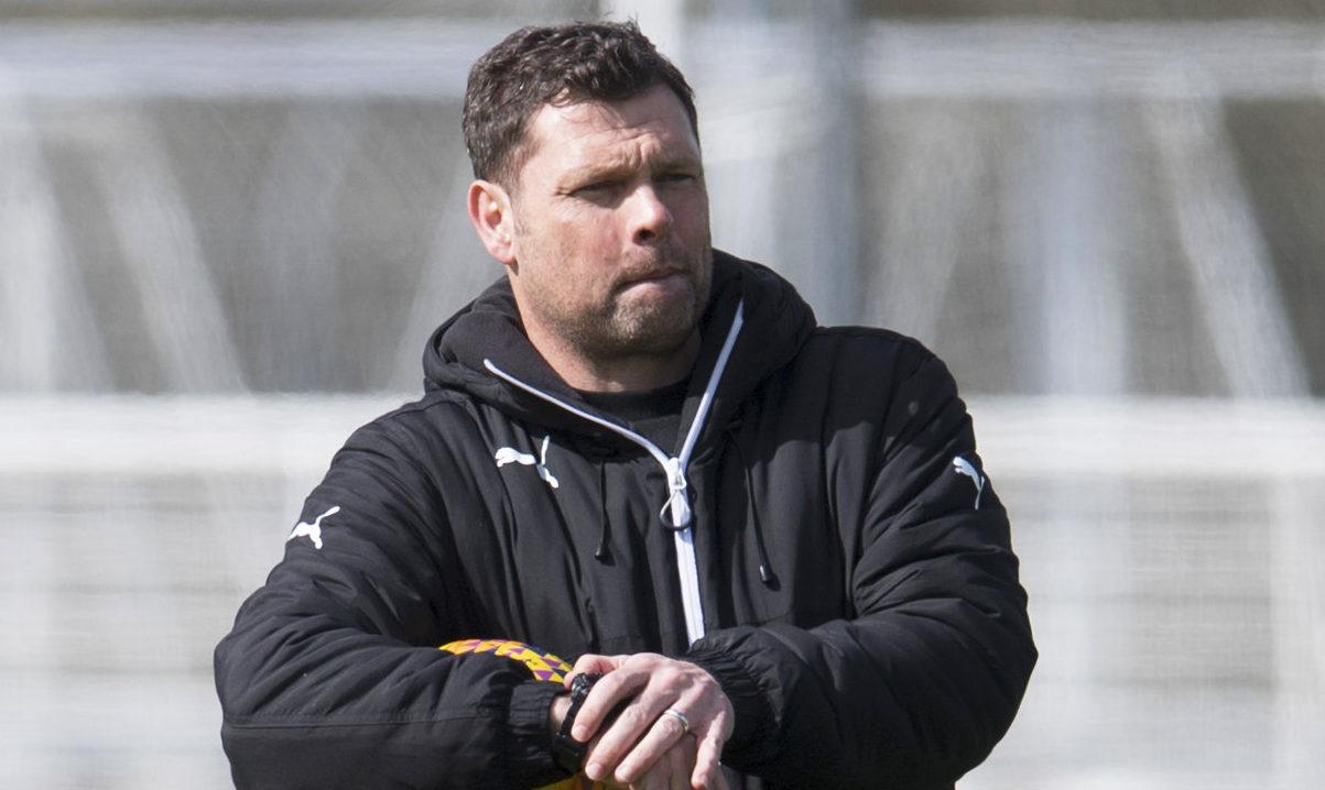 Rangers Manager Graeme Murty (SNS Group / Craig Foy)
