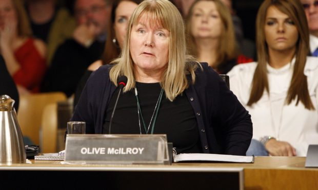 Olive McIlroy (Andrew Cowan/Scottish Parliament)