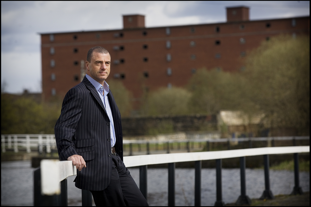 Steve Dunlop, Scottish Canals CEO