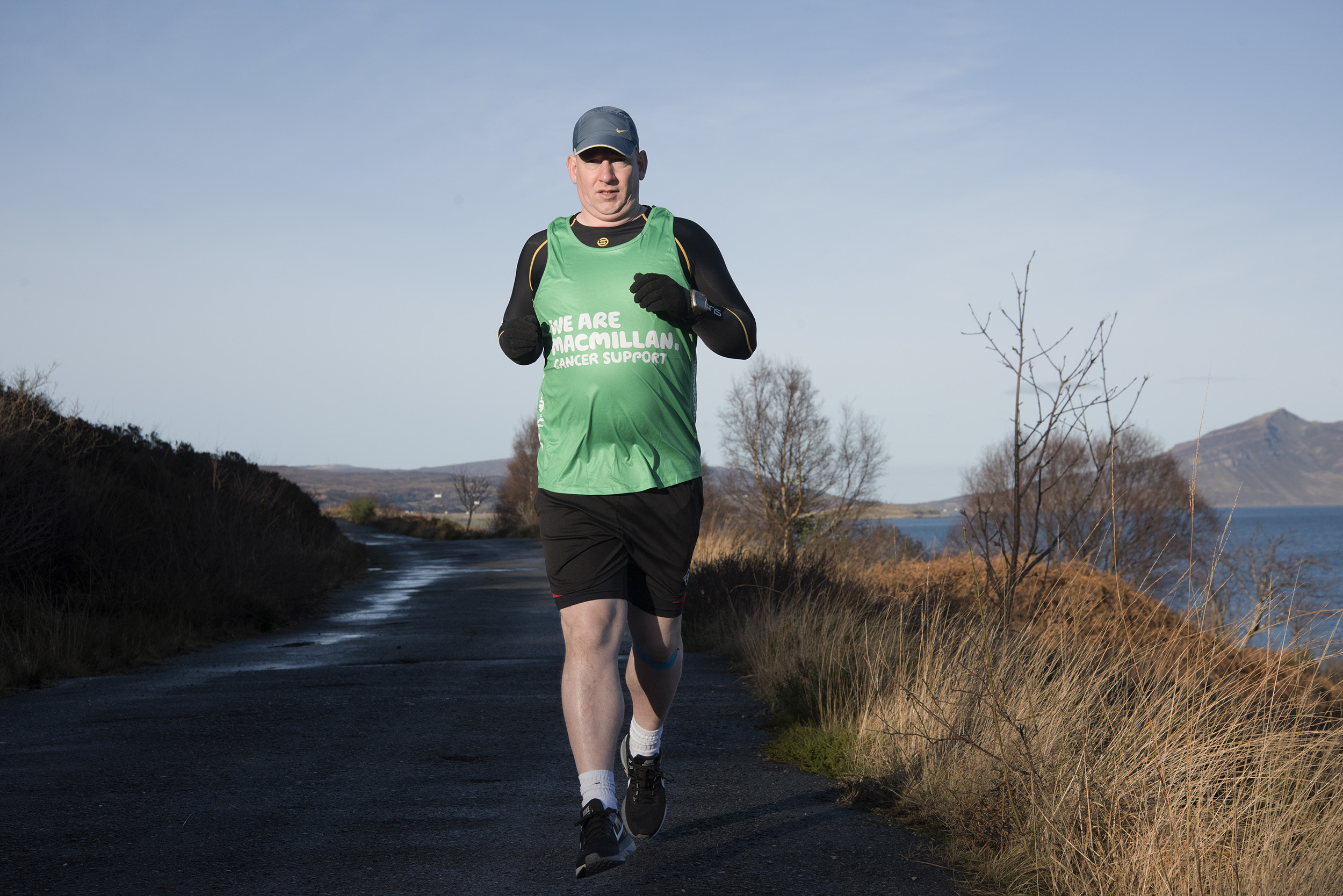 Alistair Macpherson will run across ten islands non-stop over a 48-hour period (Picture: Hugh Campbell)