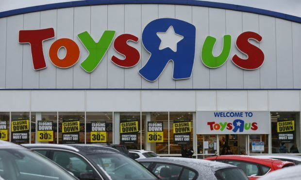 All of the Toys R Us stores will close by 24 April (Yui Mok/PA)