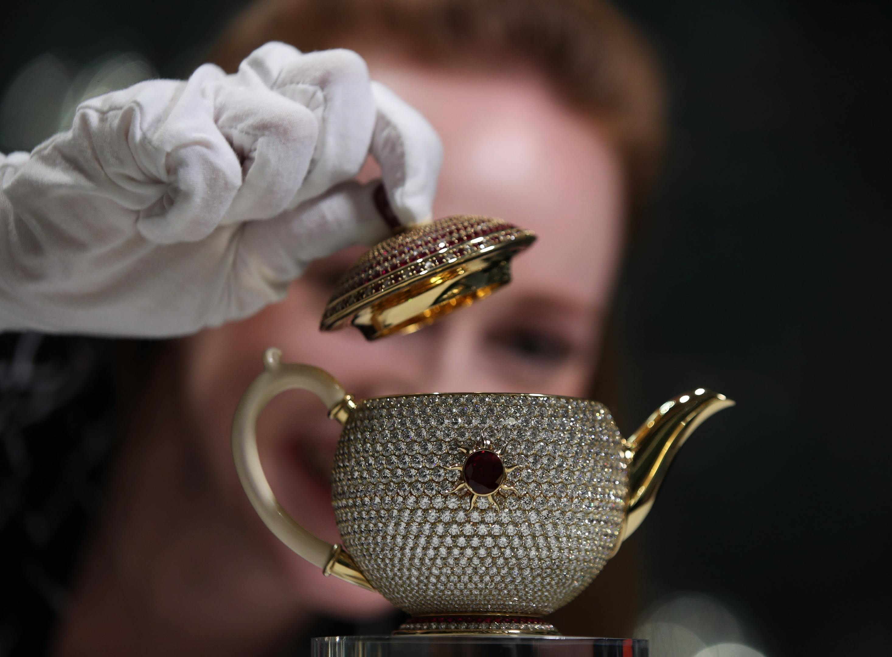 The Egoist was named as the world's most valuable teapot (Yui Mok/PA)