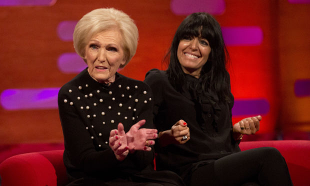 Mary Berry and Claudia Winkleman discuss their new cooking show (Isabel Infantes/PA)