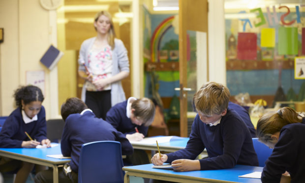 "Labour has blamed ""supersized"" classes in Scotland's primary schools for the attainment gap between richer and poorer pupils (Getty Images/iStock)"