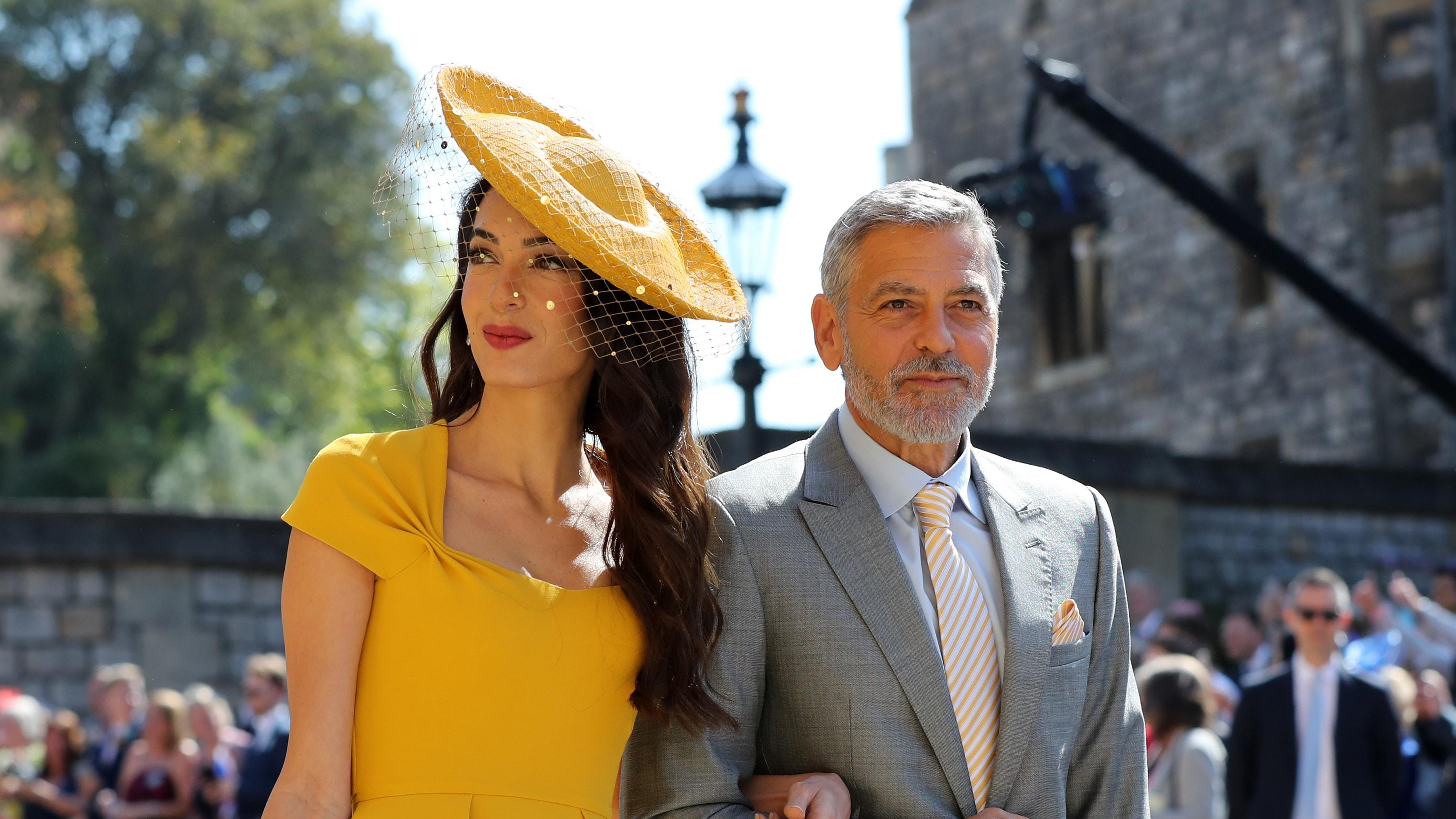 Oprah Winfrey Royal Wedding.In Pictures Star Studded Guest List Including Beckhams Clooneys
