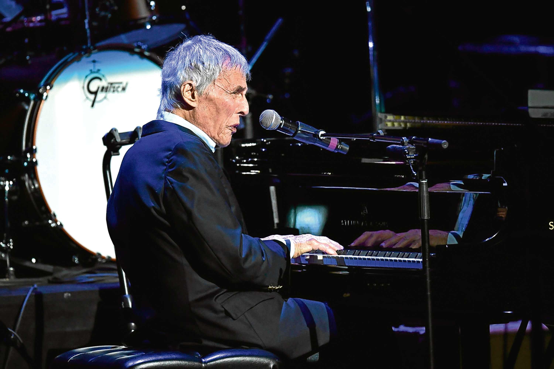 Magic moment as music legend Burt Bacharach reaches 90 - Sunday Post