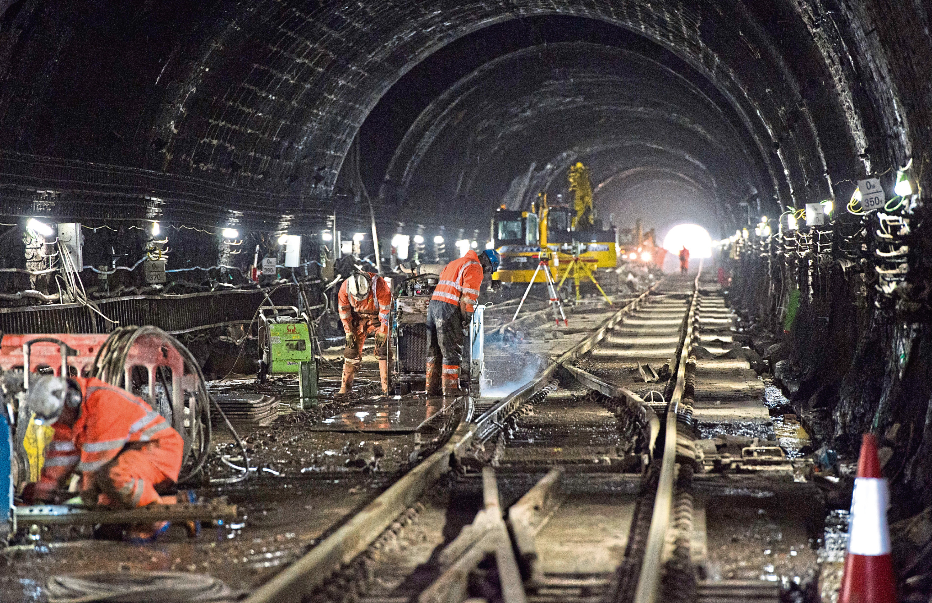The electrification of the line has gone over budget and overrun, much to the concern of the rail regulator