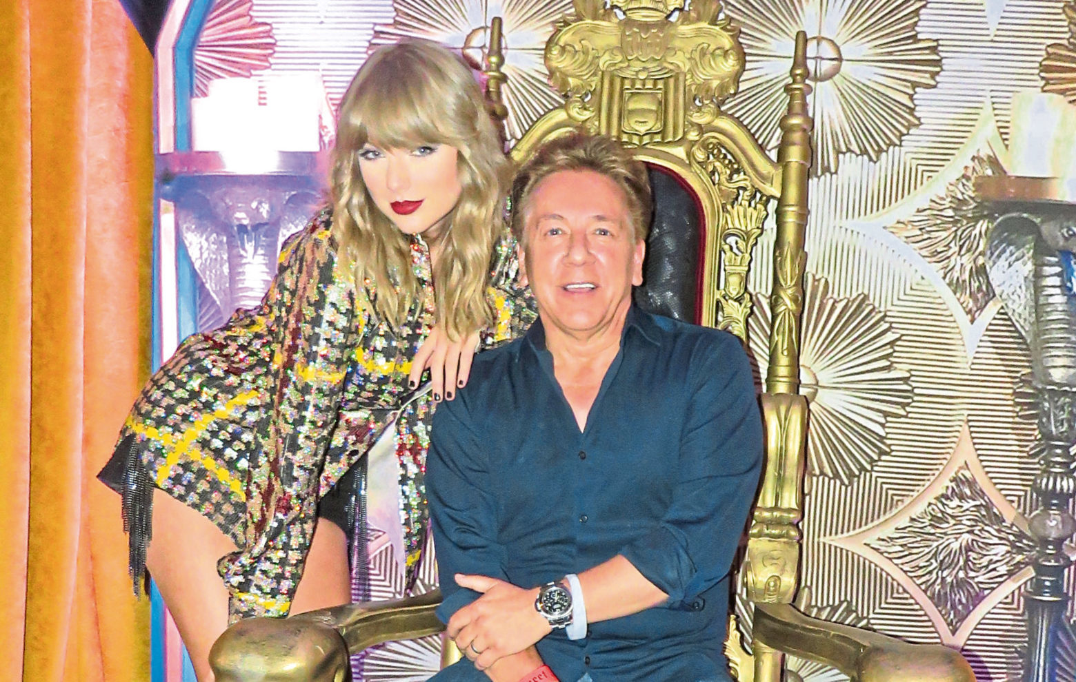 Game Of Thrones? Singing superstar Taylor Swift and I prove we're showbiz royalty