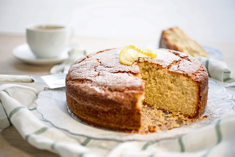 Lemon and yogurt cake from Lancashire Farm Dairies