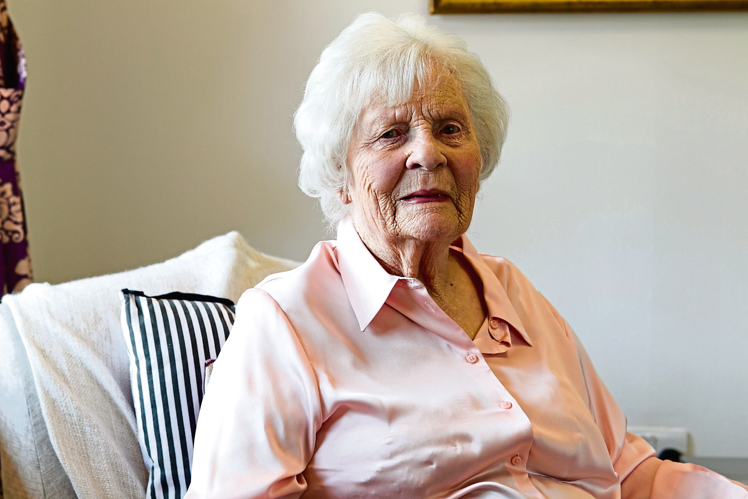 Agnes MacLeod, who worked as a nurse during the war to wounded soldiers (Andrew Cawley / DC Thomson)
