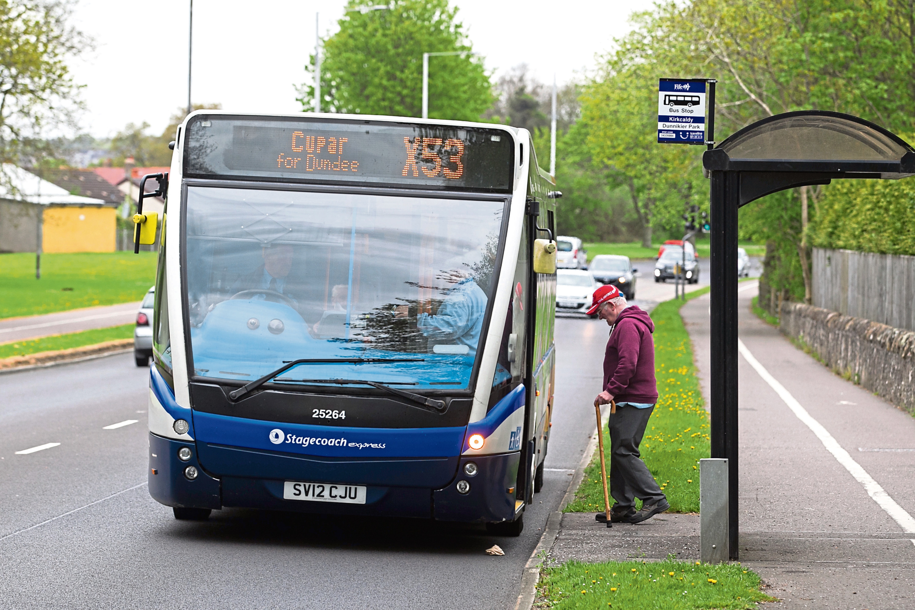 The X53 bus service in Kirkcaldy (Chris Austin / DC Thomson)