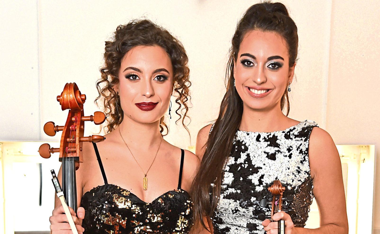 The Ayoub Sisters (Matt Crossick / PA)