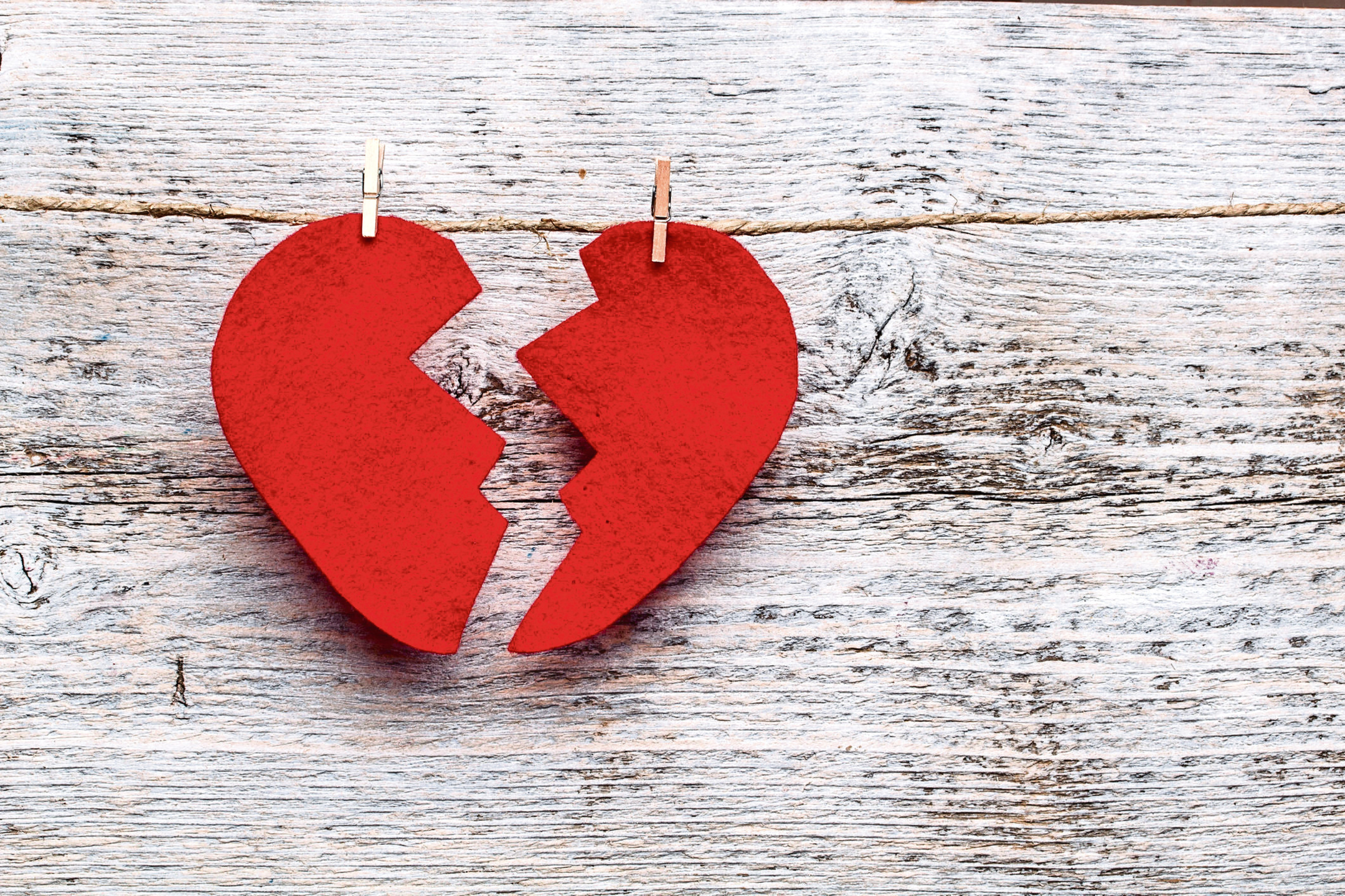 A broken heart (Thinkstock/PA)