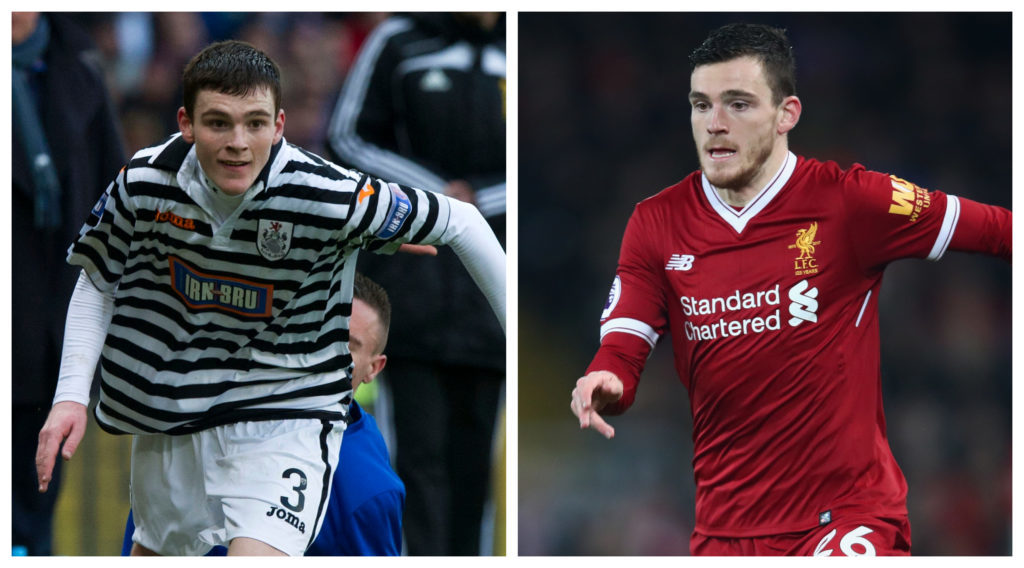 Queen's Park hail former player Andy Robertson as he reaches
