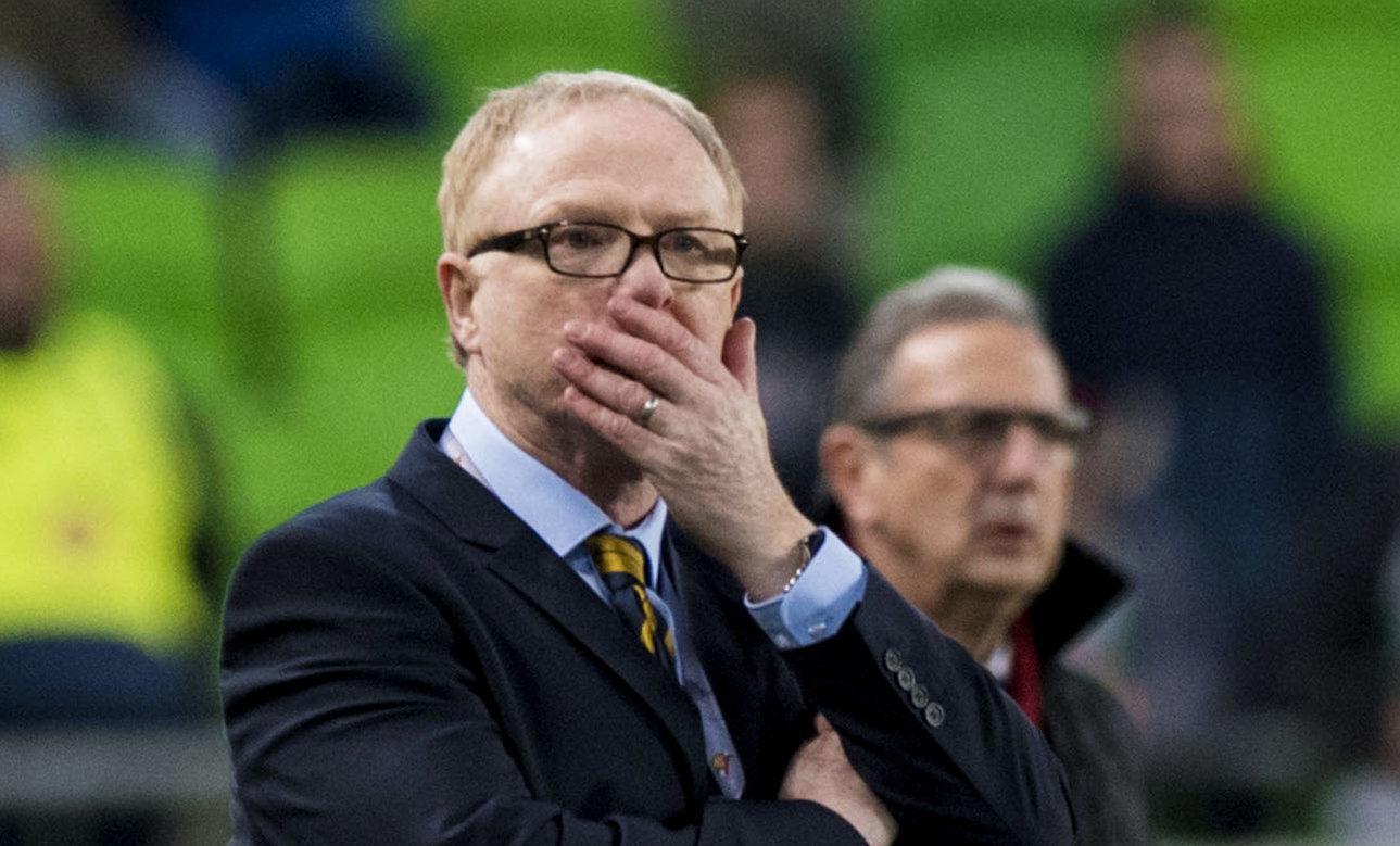 Scotland boss Alex McLeish (SNS Group / Alan Harvey)