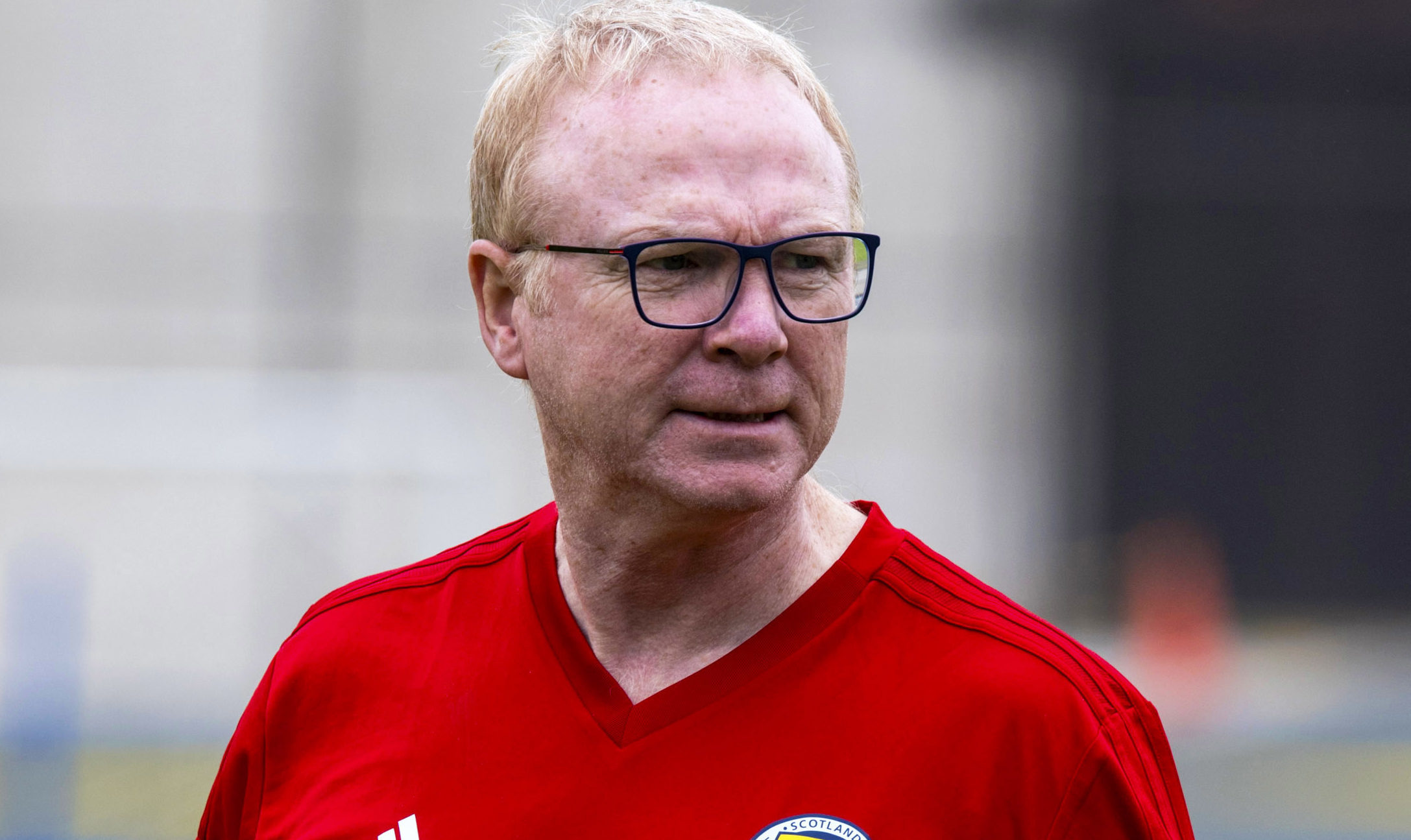 Scotland Manager Alex McLeish (SNS Group)