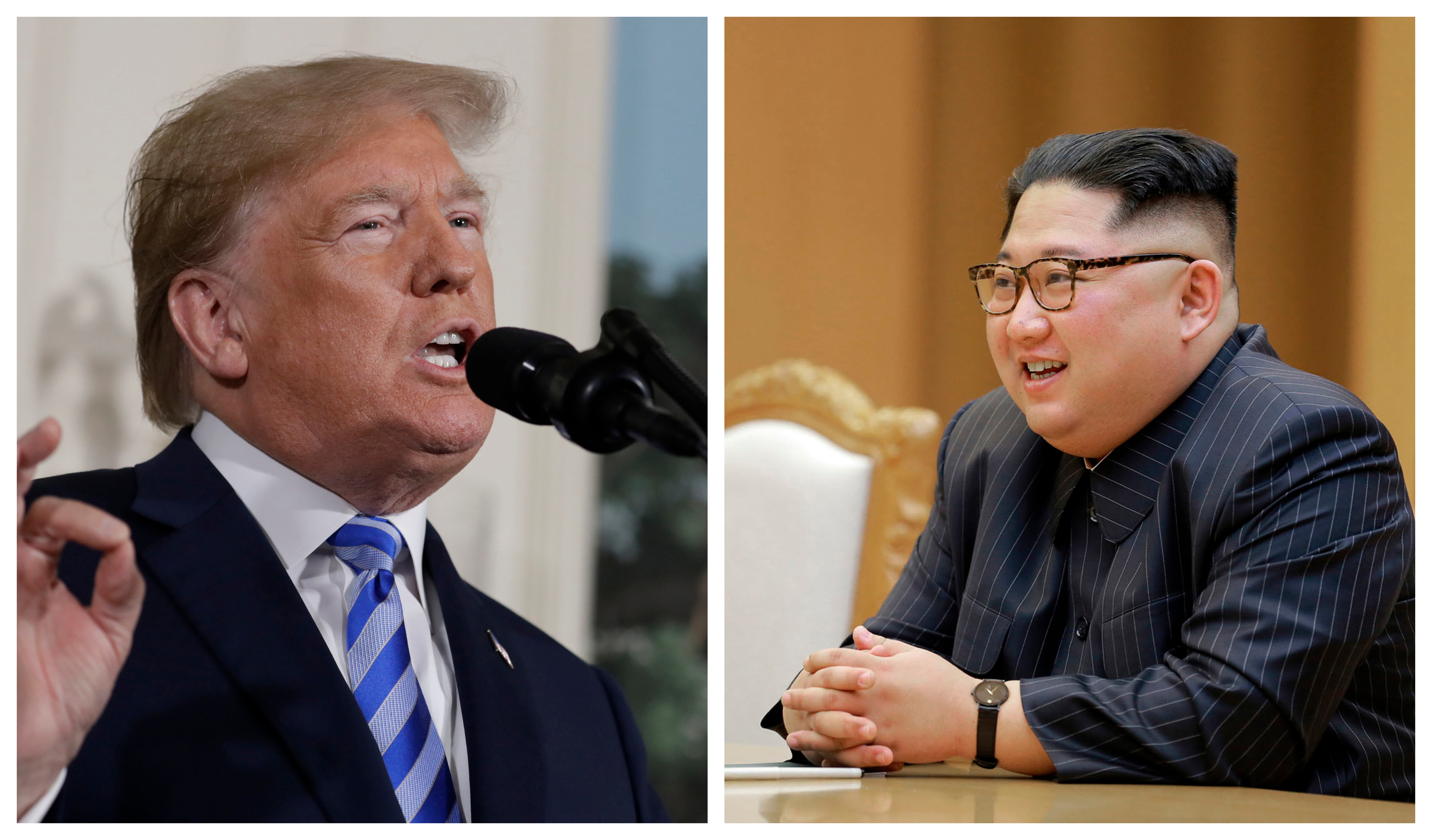 Donald Trump will come face to face with Kim Jong Un this summer