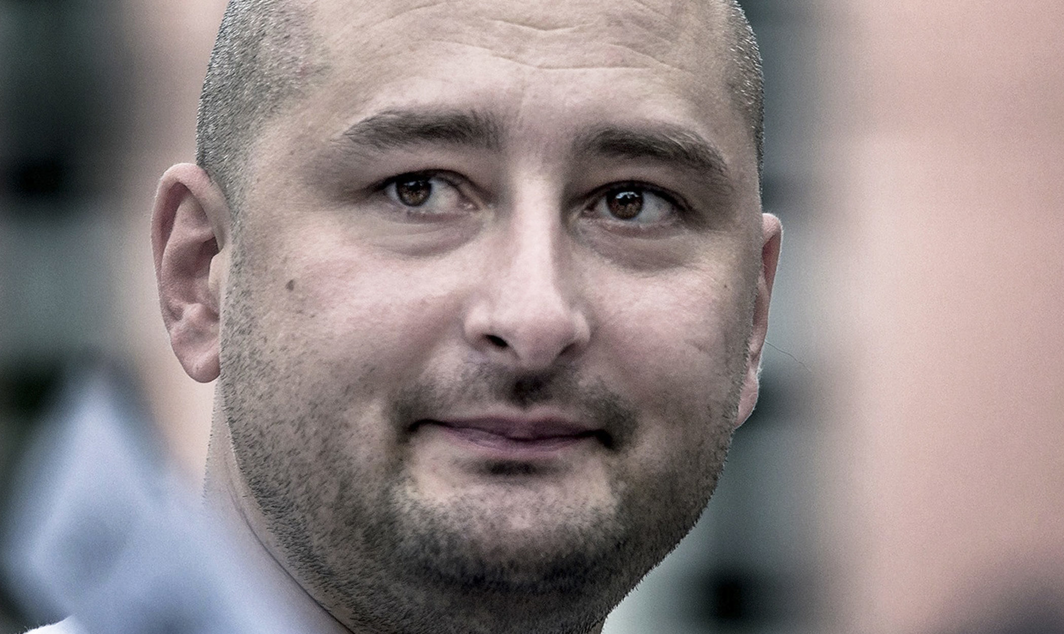Arkady Babchenko (AP Photo/Alexander Baroshin)