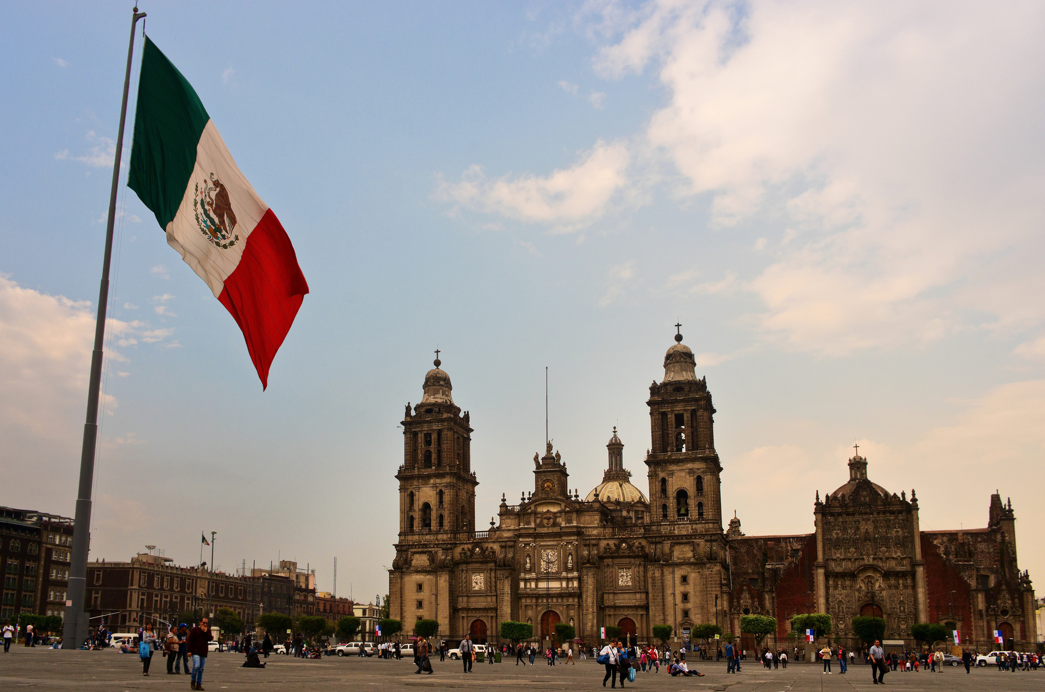 Zocalo, Mexico City (Getty Images)