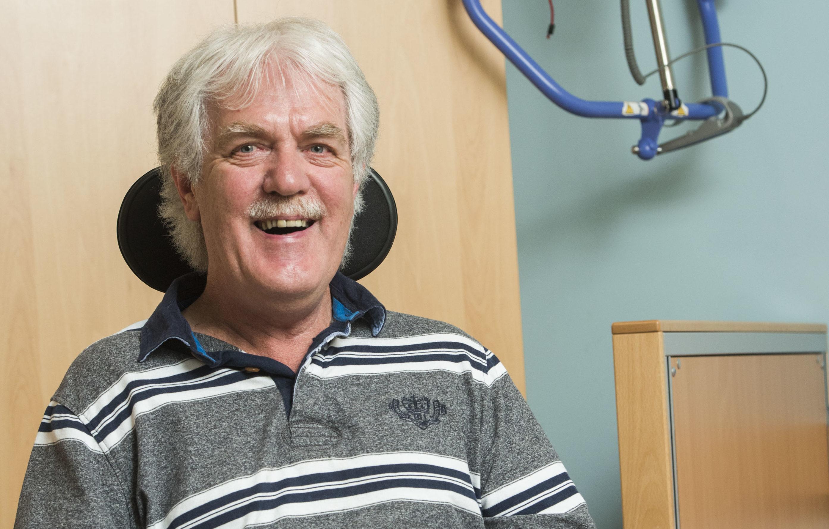 I loved teaching, skiing, motorcyling, golfing... Giving it up was a bitter blow, says Jim Inglis (Pic: Alan Richardson)