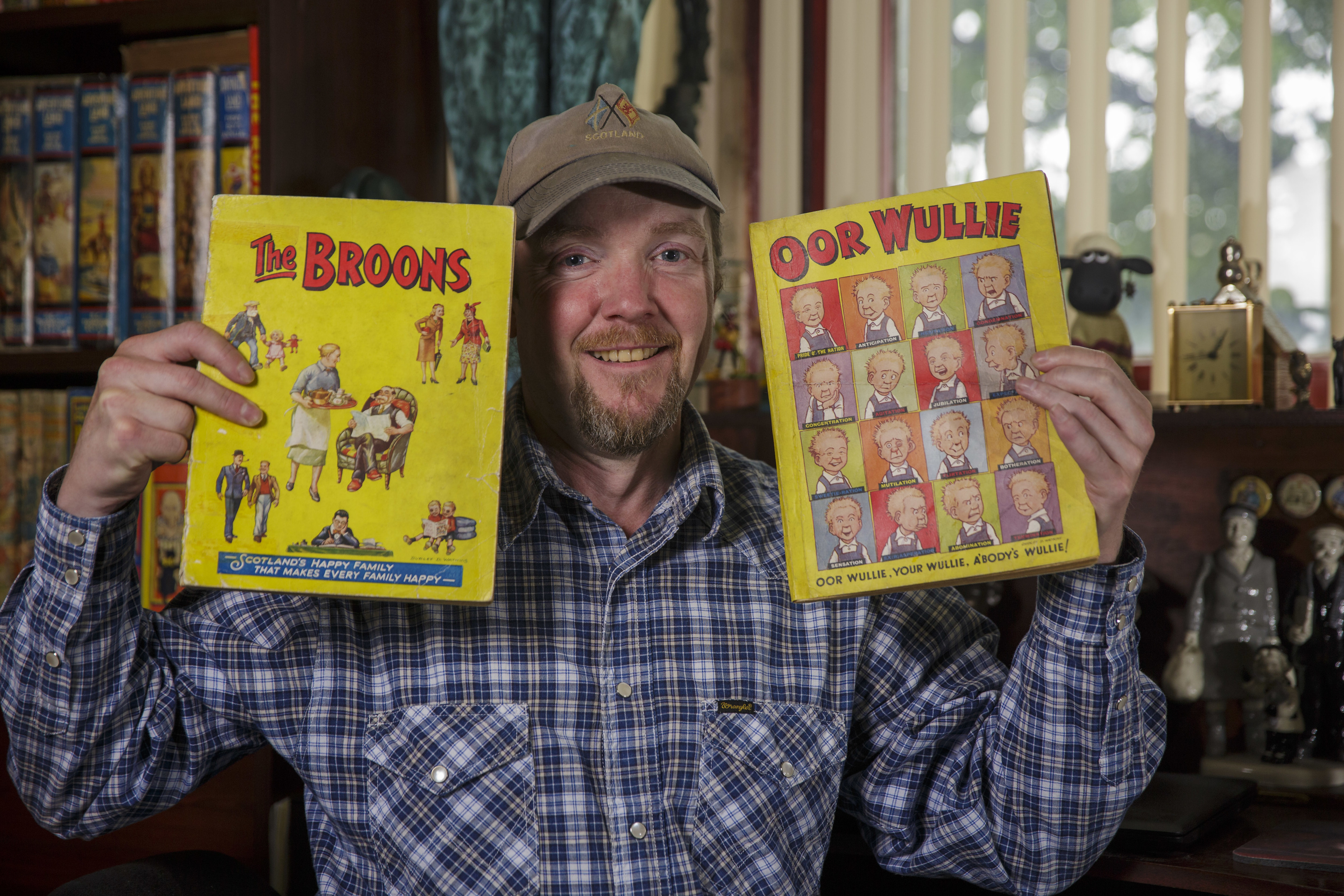 Matt Fleming is hoping to auction off two of his annuals (Newsline Media)