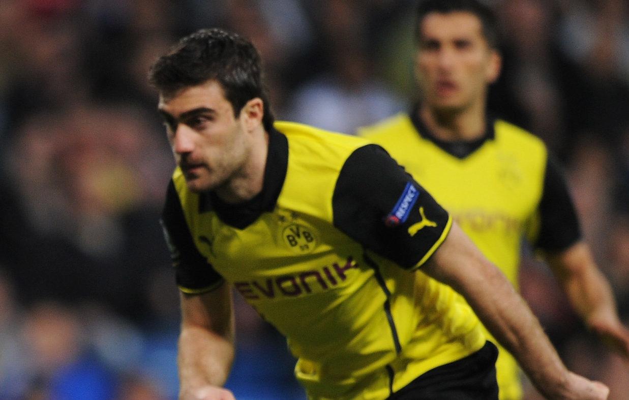 Sokratis Papastathopoulos of Borussia Dortmund   (Denis Doyle/Getty Images)