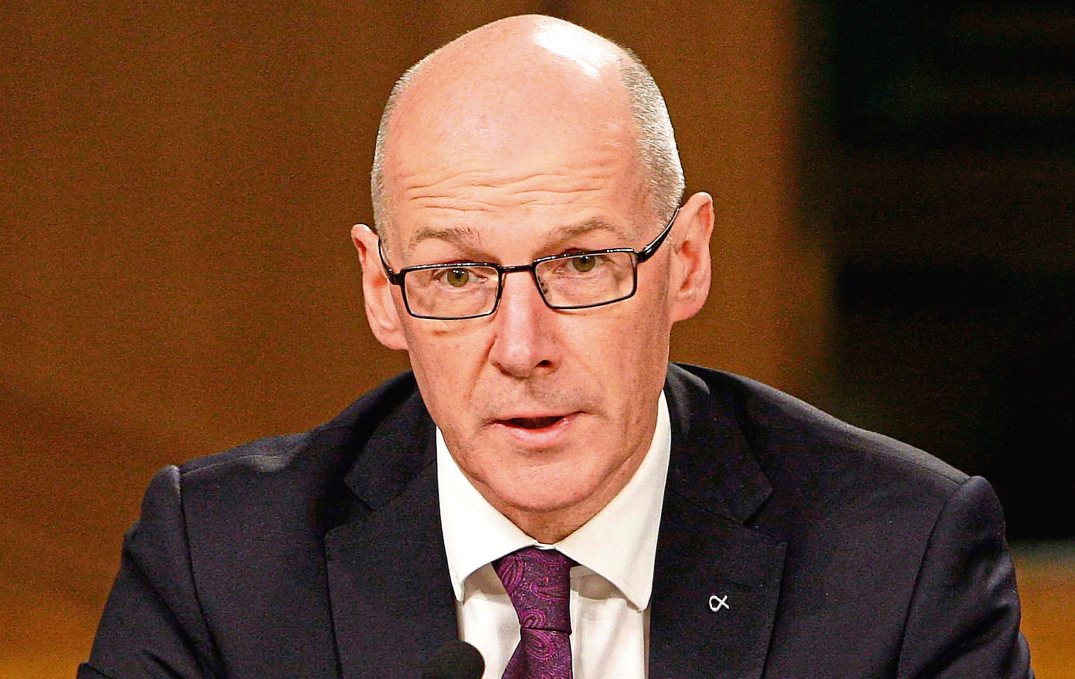 John Swinney, Cabinet Secretary for Education and Skills (Andrew Cowan/Scottish Parliament)