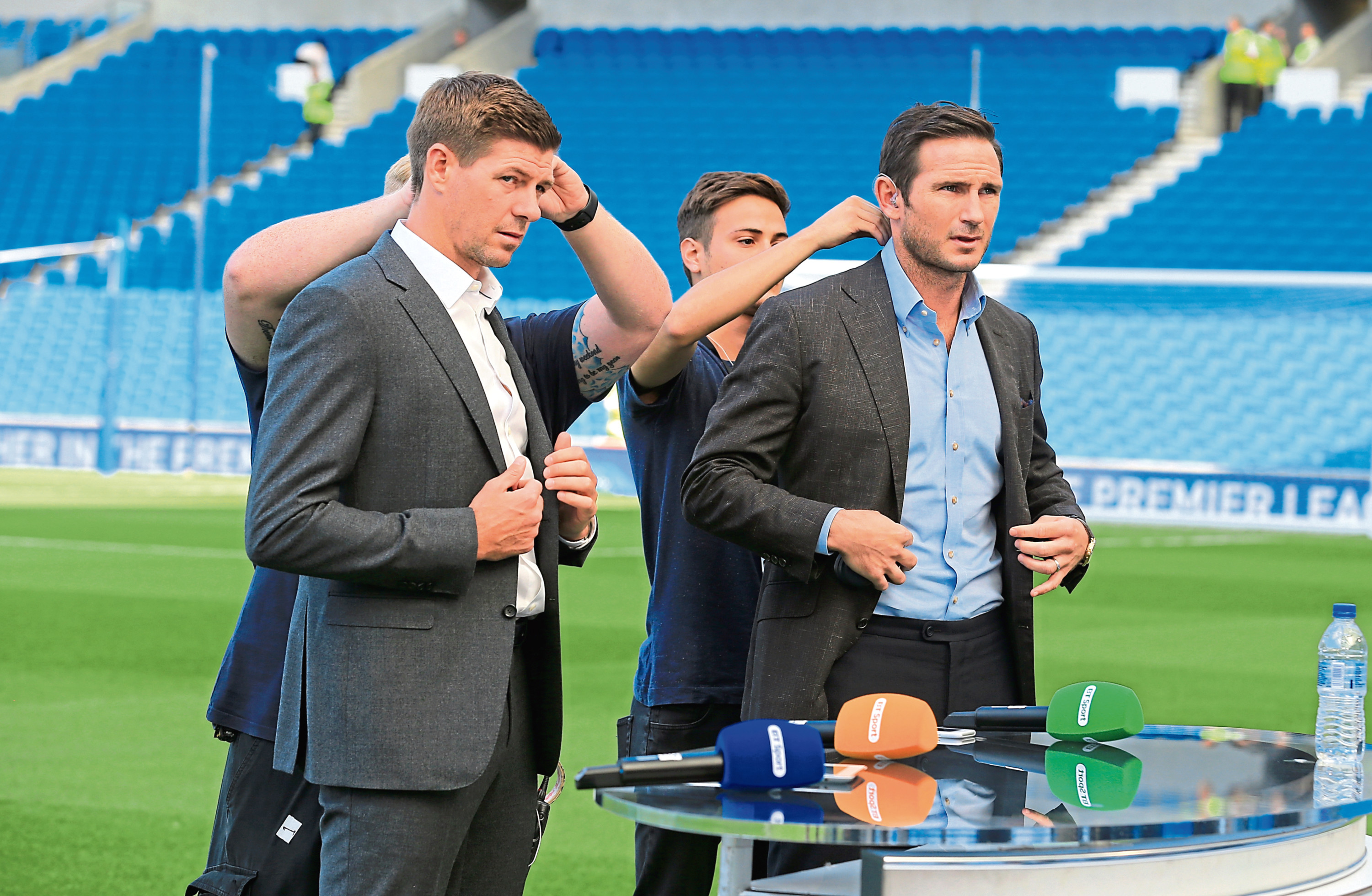 Steven Gerrard and Frank Lampard will both make their management debuts in the coming season (Gareth Fuller/PA Wire)