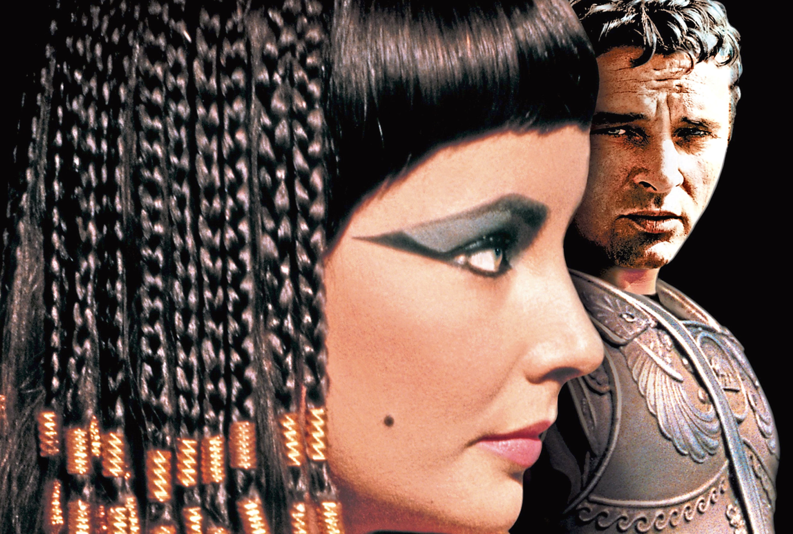 Liz and Richard Burton in Cleopatra (Allstar/20TH CENTURY FOX)