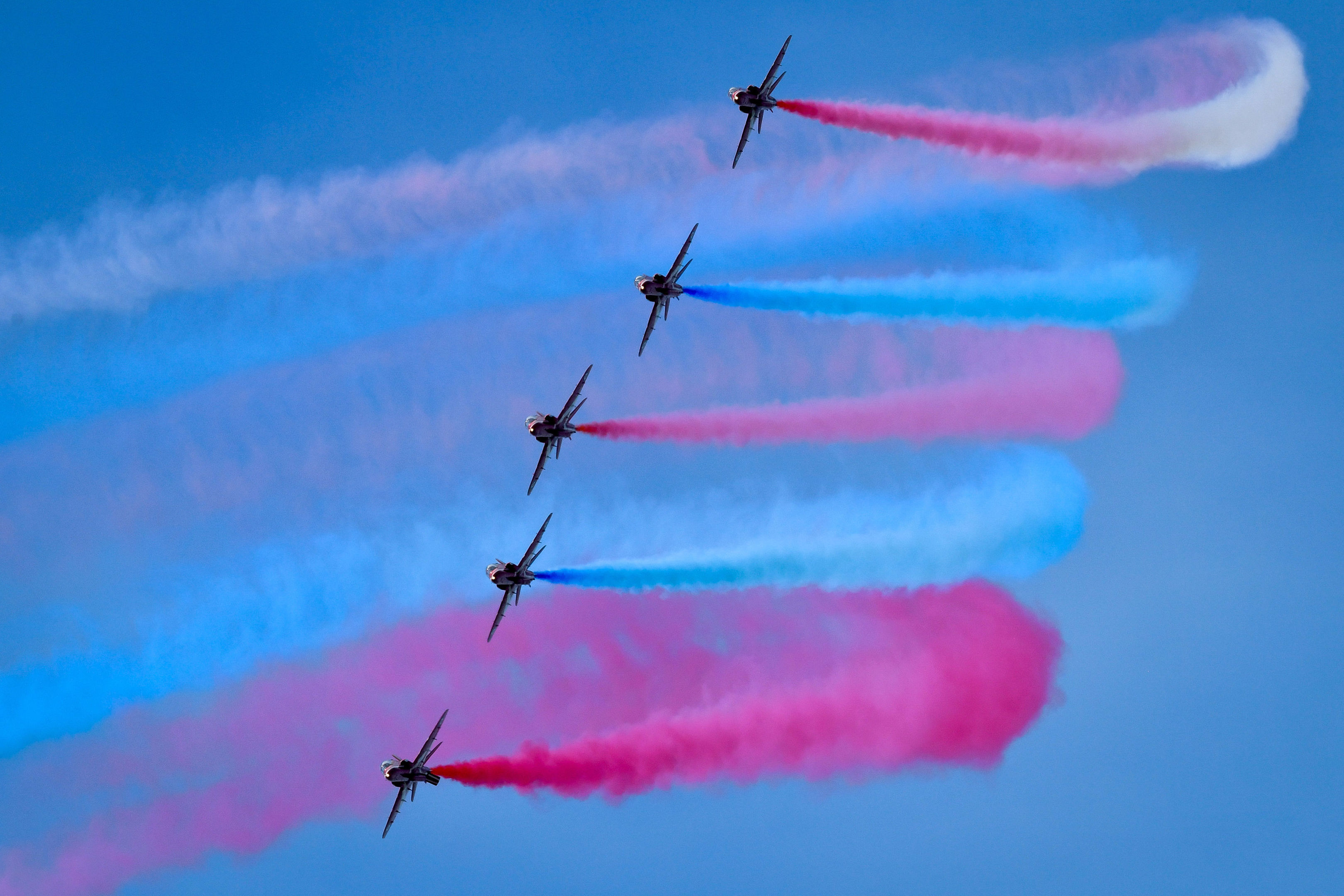 The Red Arrows (Ben Birchall/PA Wire)