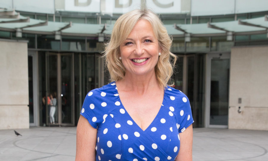 Carol Kirkwood Says Shell Always Think Of Scotland As Home Alamy
