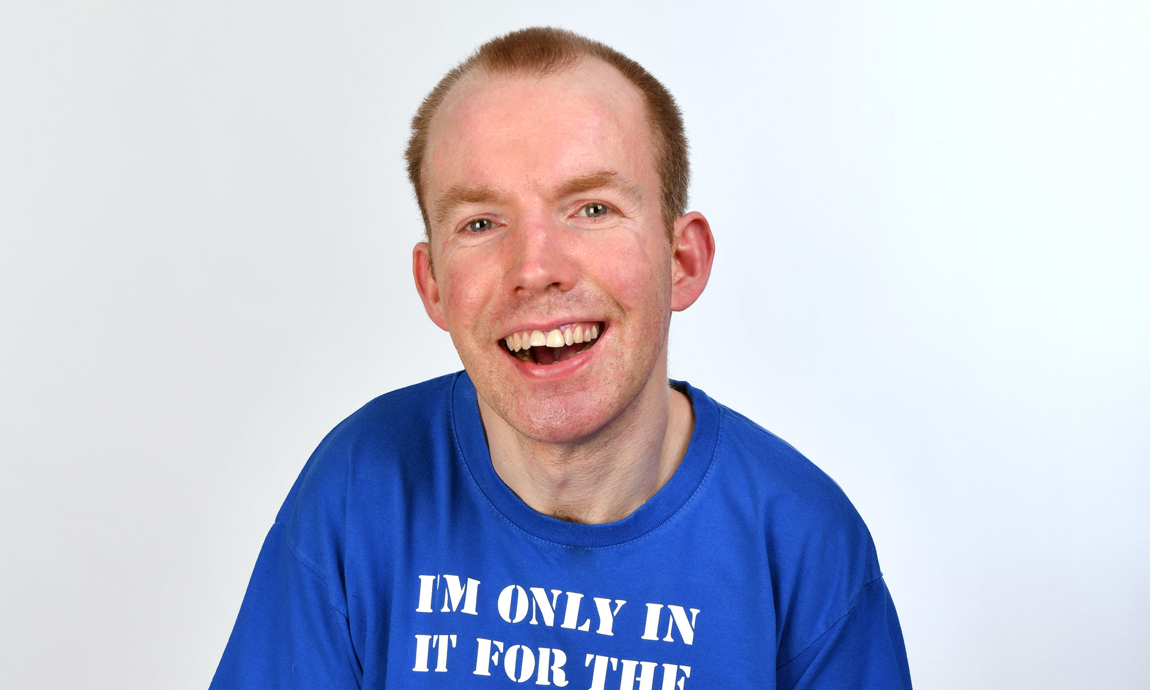Lee, aka Lost Voice Guy, has impressed Britain's Got Talent judges (Steve Ullathorne)