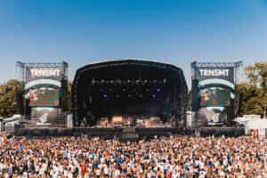 The main stage audience basking in sunshine at last year's TRNSMT (Ryan Johnston / TRNSMT)