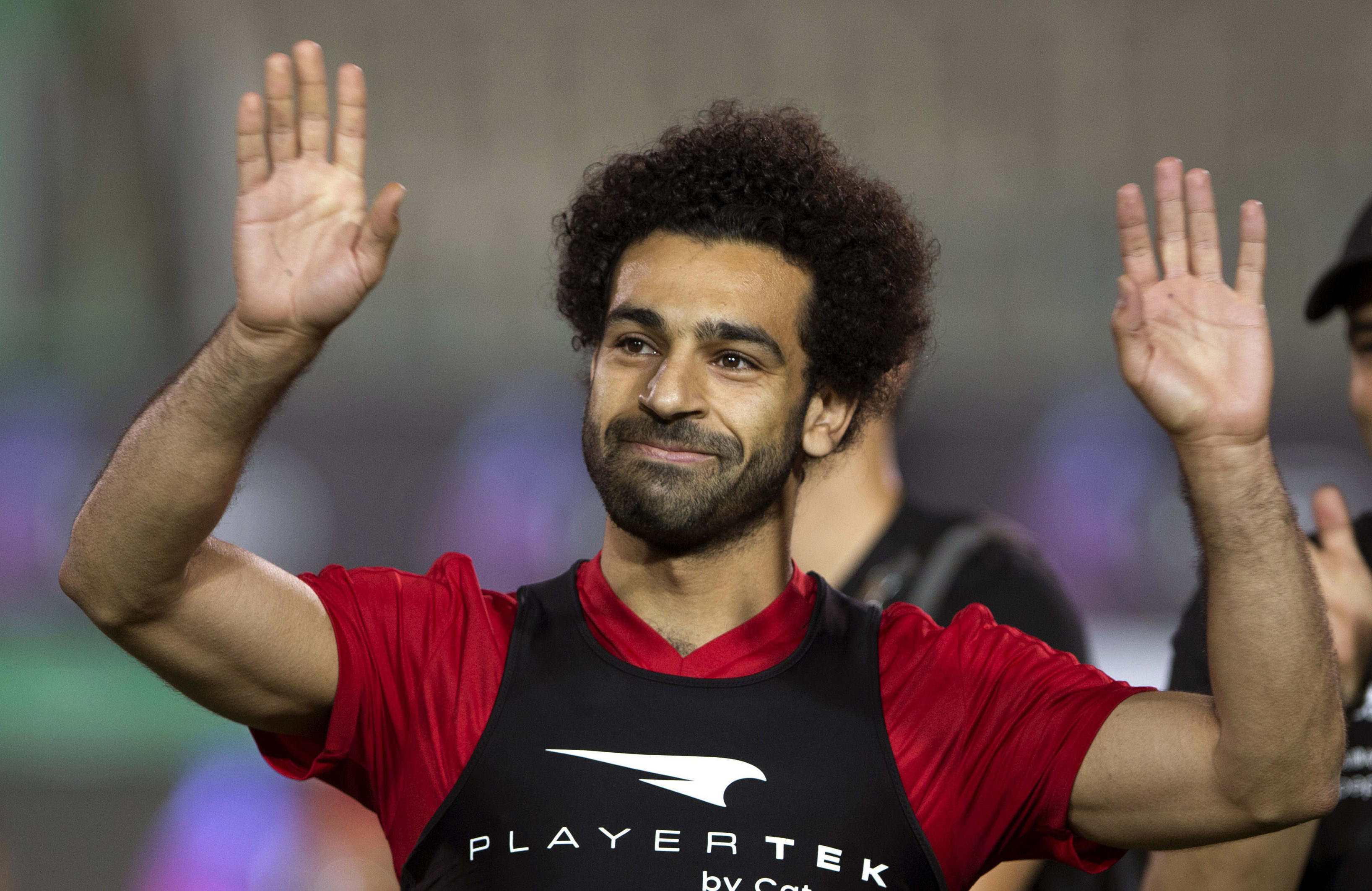 Mohamed Salah (AP Photo/Amr Nabil)