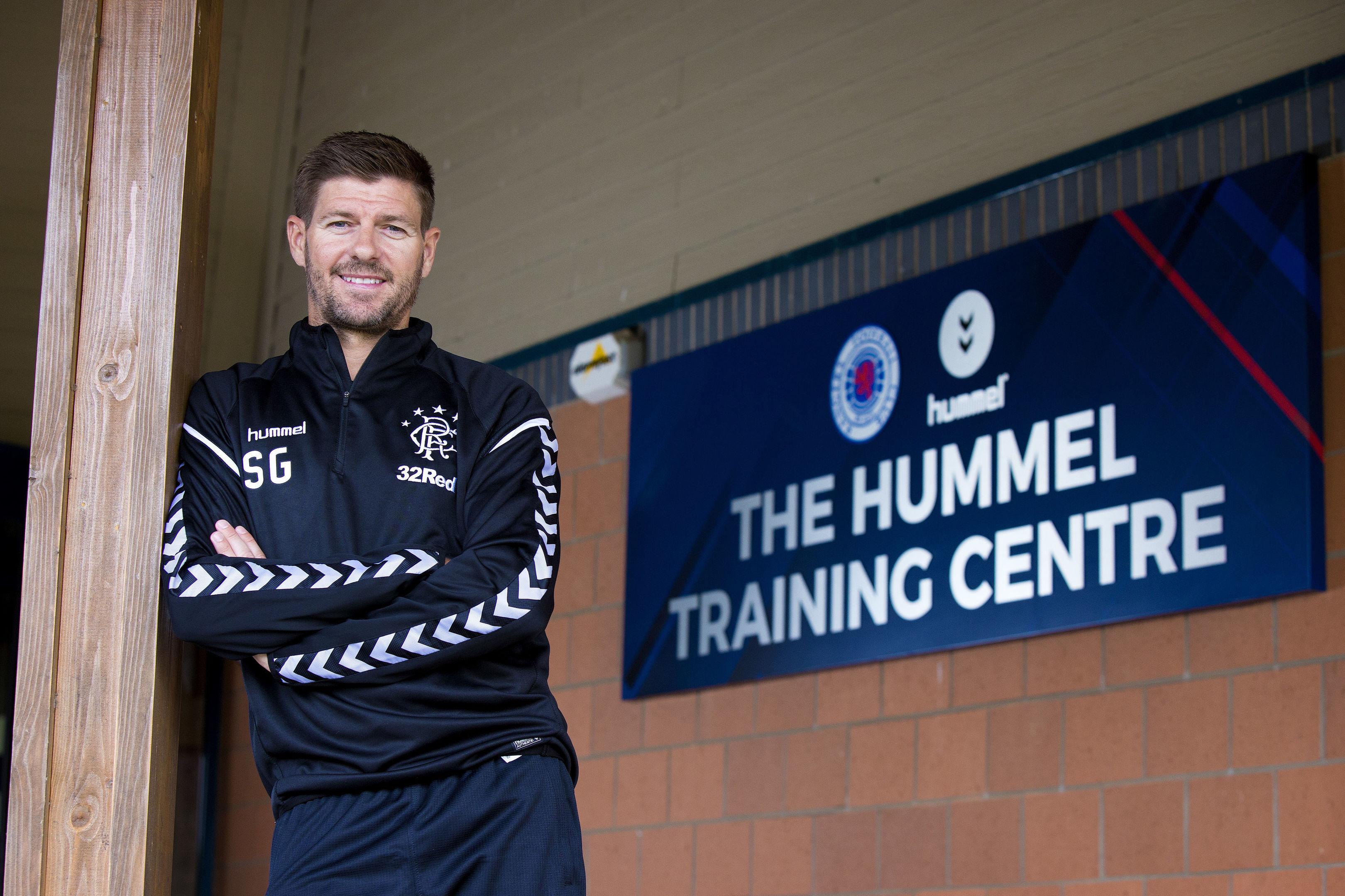 Rangers boss Steven Gerrard (Kirk O'Rourke/Rangers Football Club/PA Wire)