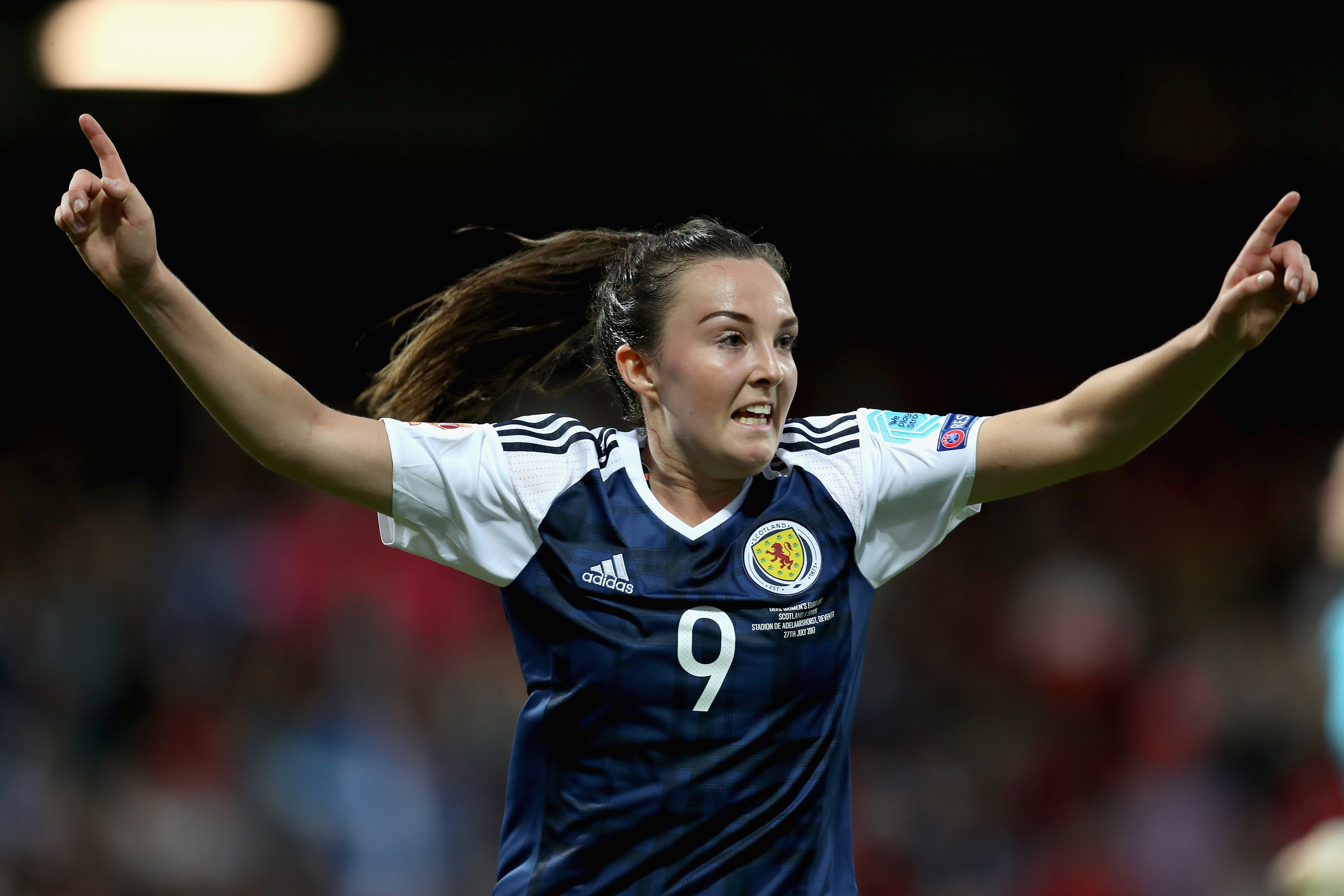 Caroline Weir in action for Scotland (Maja Hitij/Getty Images)