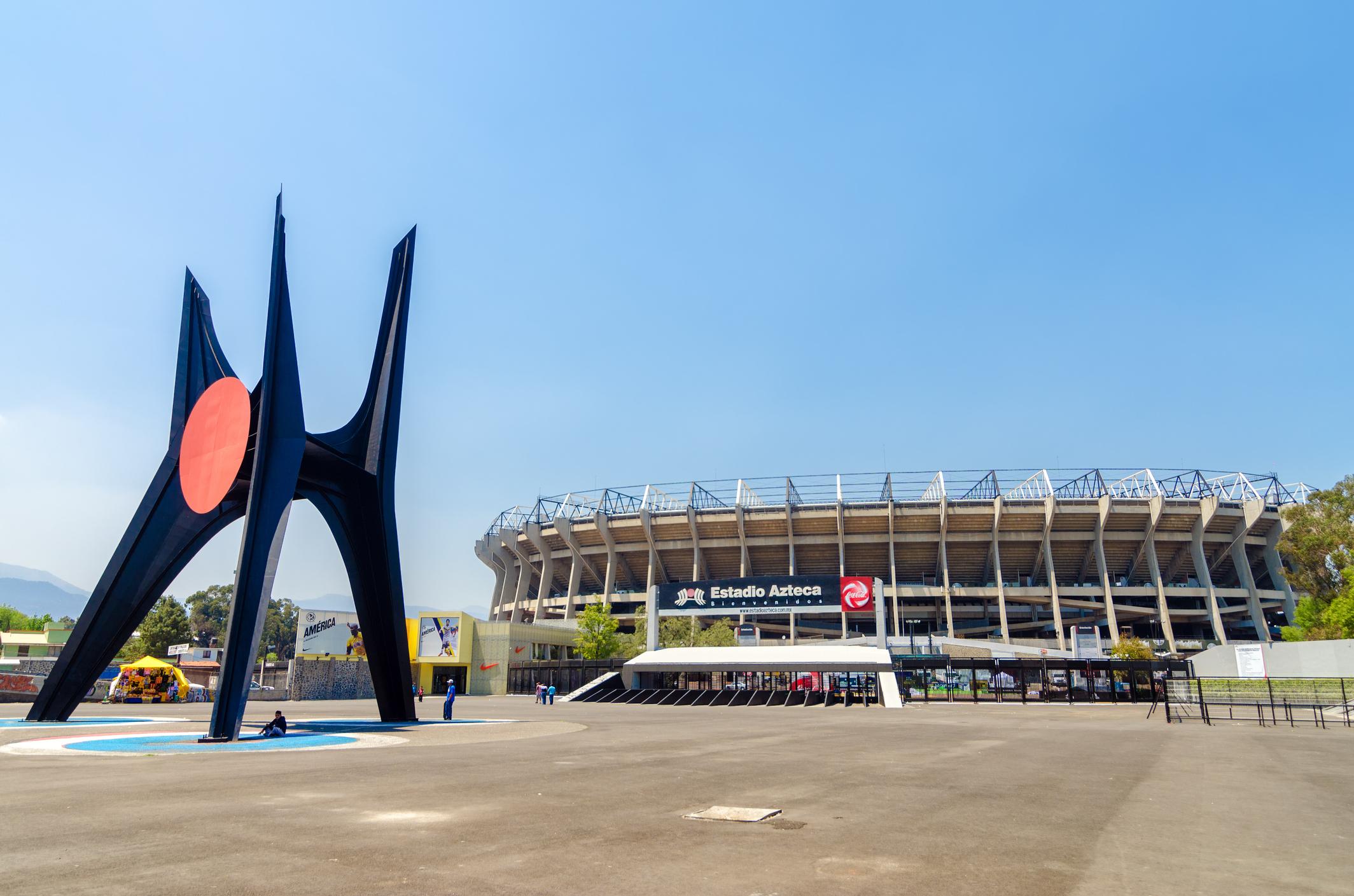 Azteca Stadium in Mexico City (Getty Images)
