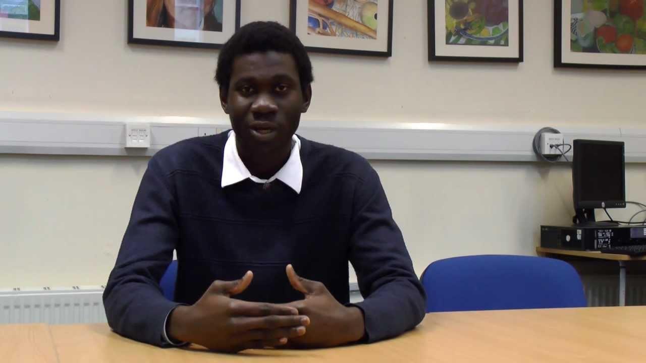 Denzel Darku (YouTube / Scottish Youth Parliament)