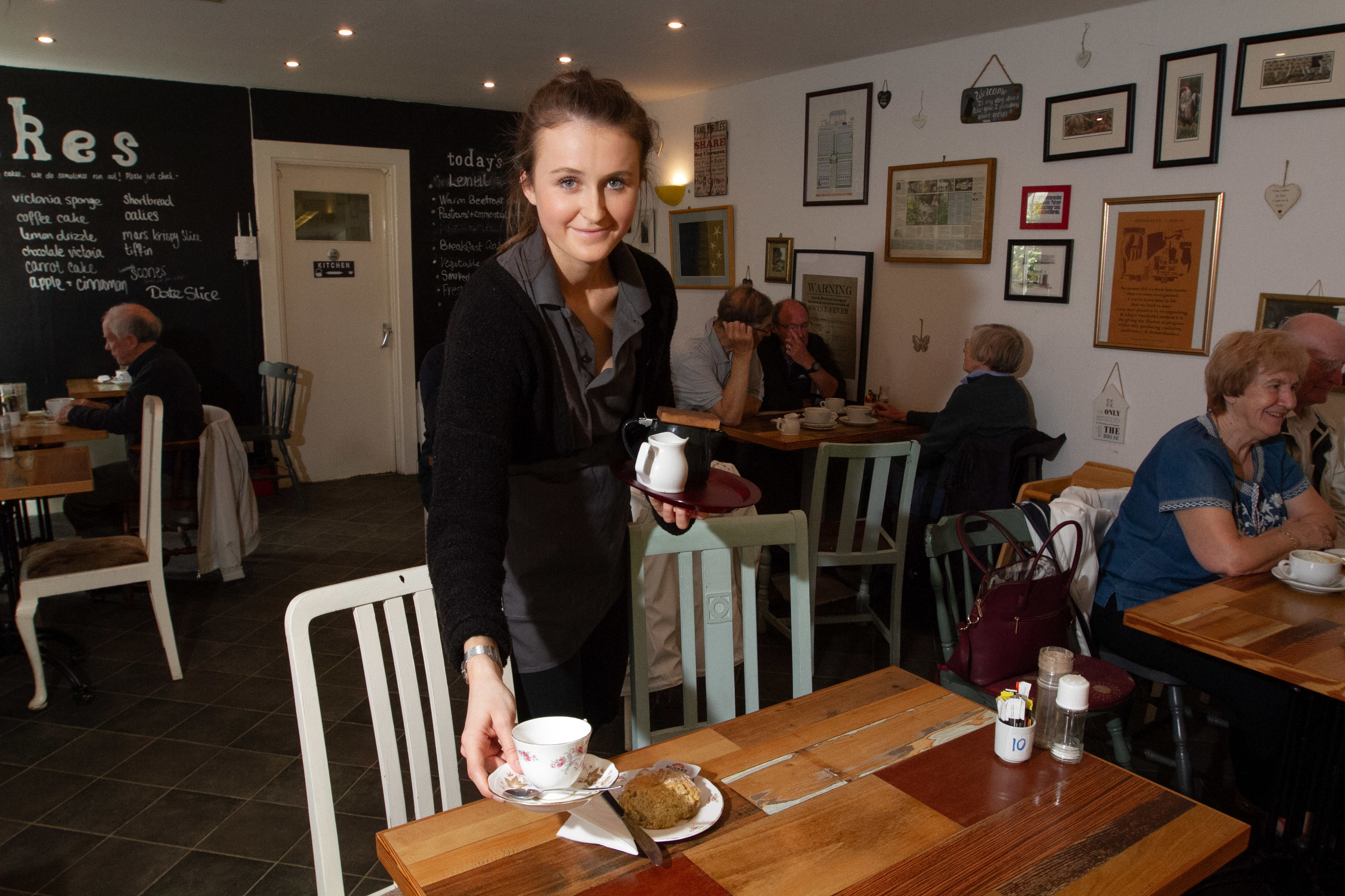 Spill The Beans Scone Spy in Dunkeld