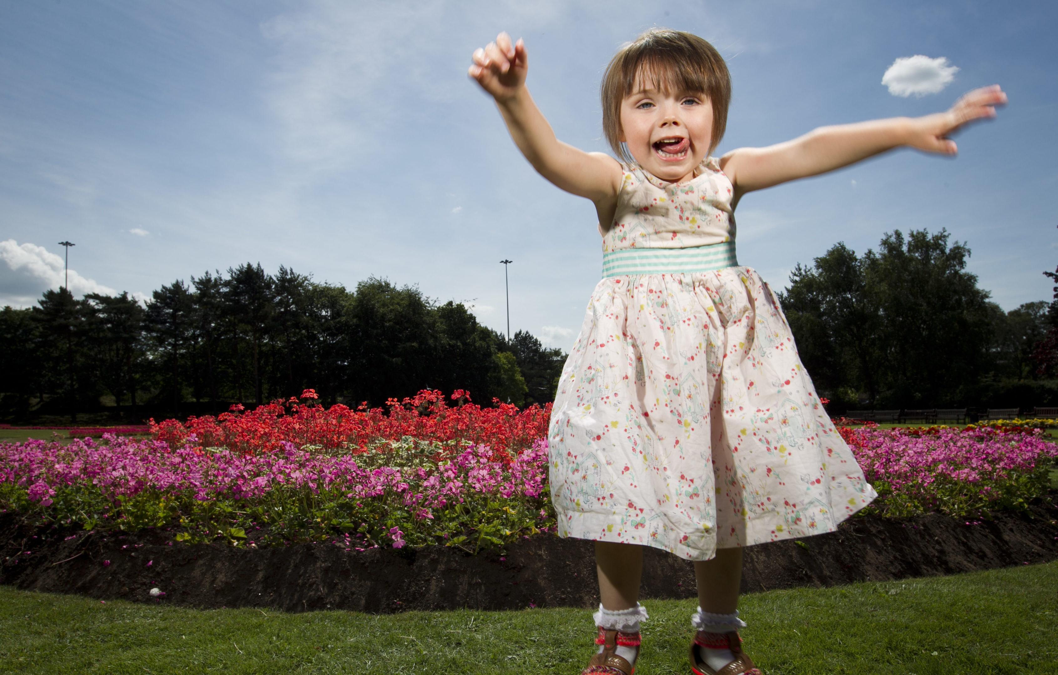 Ella is full of life (Andrew Cawley / DC Thomson)