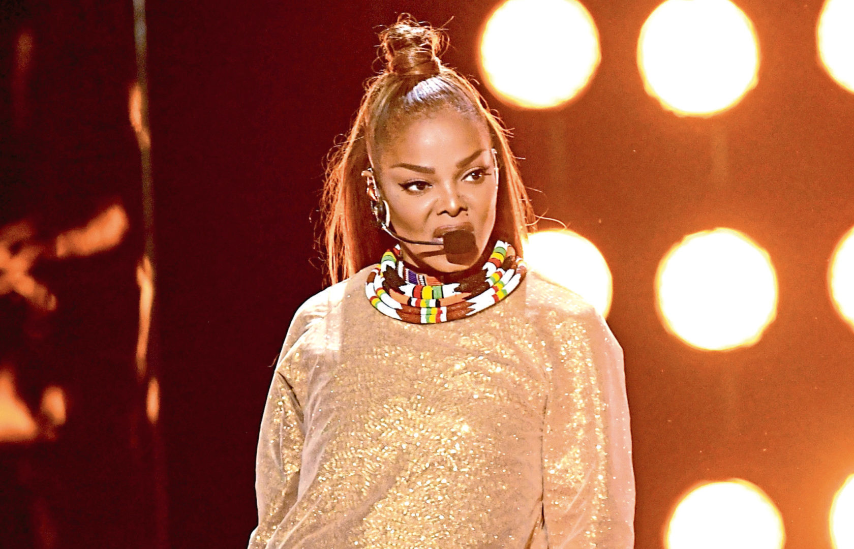 Janet Jackson performs at the 2018 Billboard Music Awards (Kevin Winter/Getty Images)