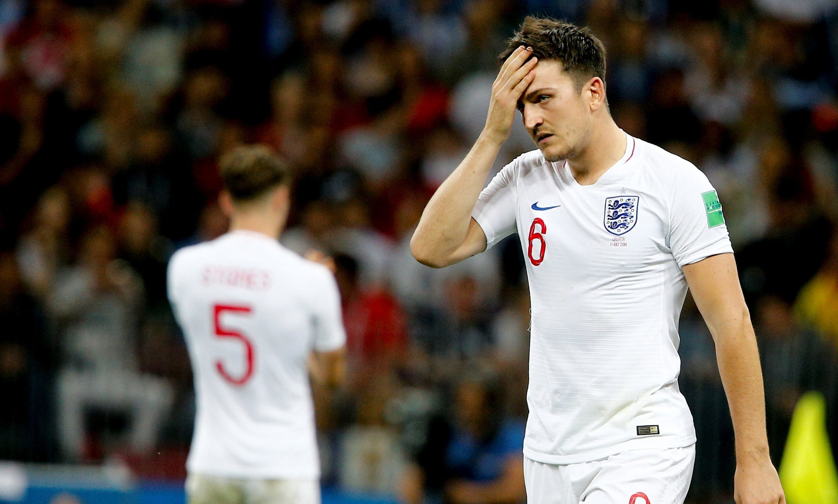 England defenderHarry Maguire (Sefa Karacan/Anadolu Agency/Getty Images)