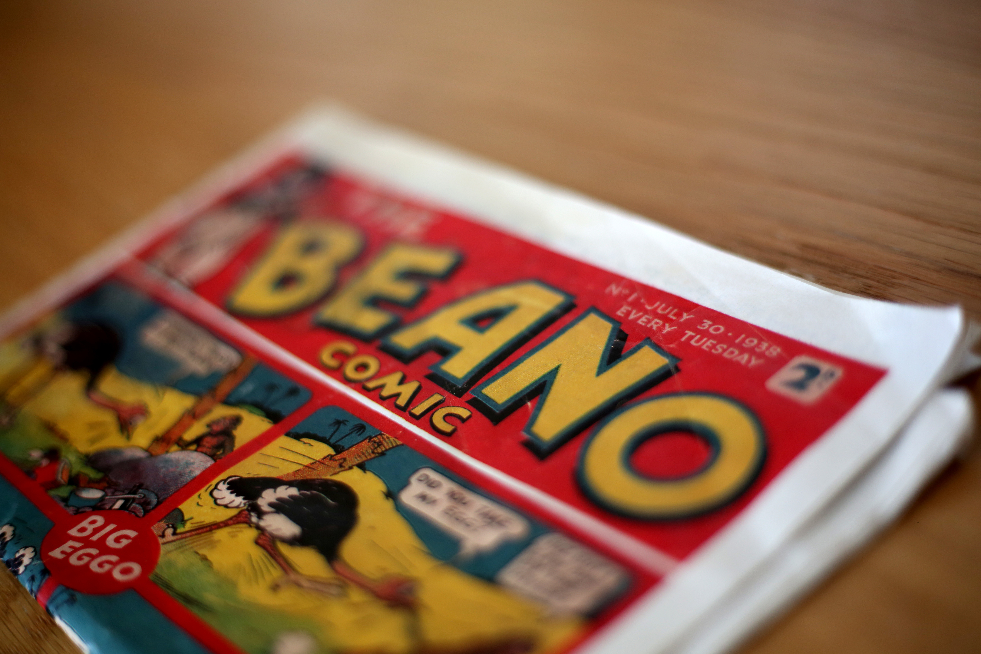 First edition of the Beano comic - estimated to be worth up to £20,000