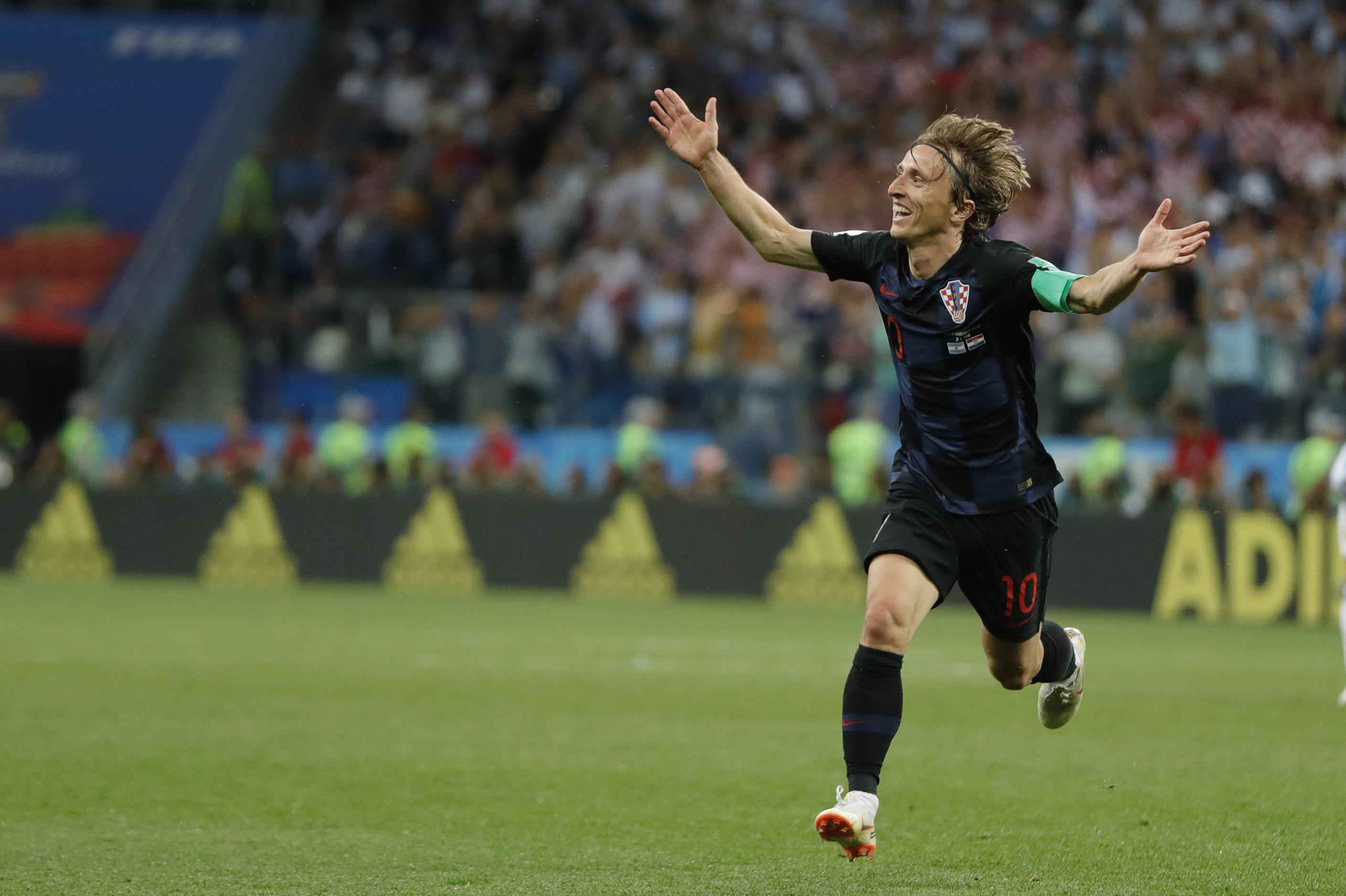 Croatia's Luka Modric (AP Photo/Ricardo Mazalan)