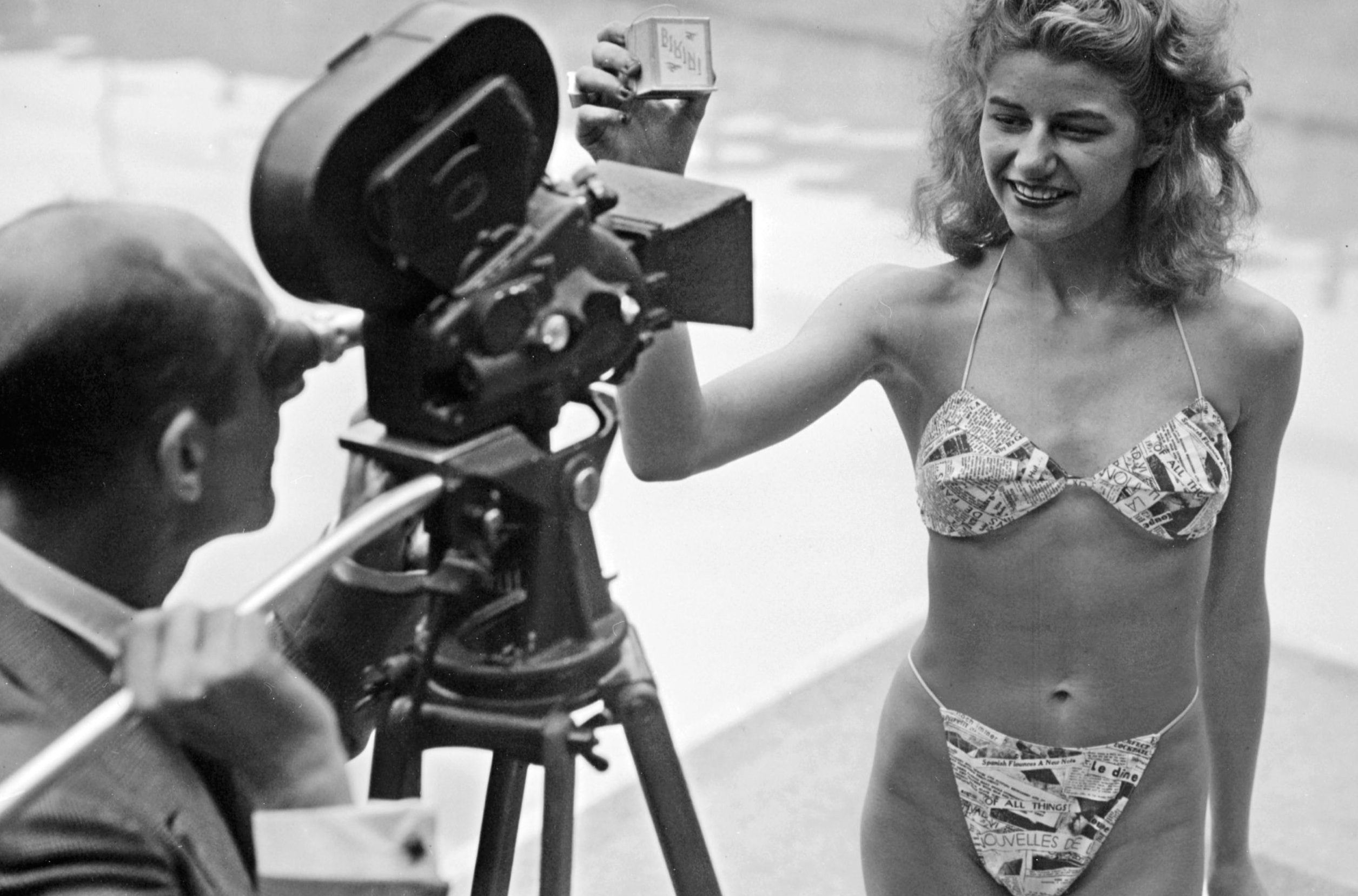 6e9164dc9e The first bikini could fit in a matchbox - a history of the world's ...